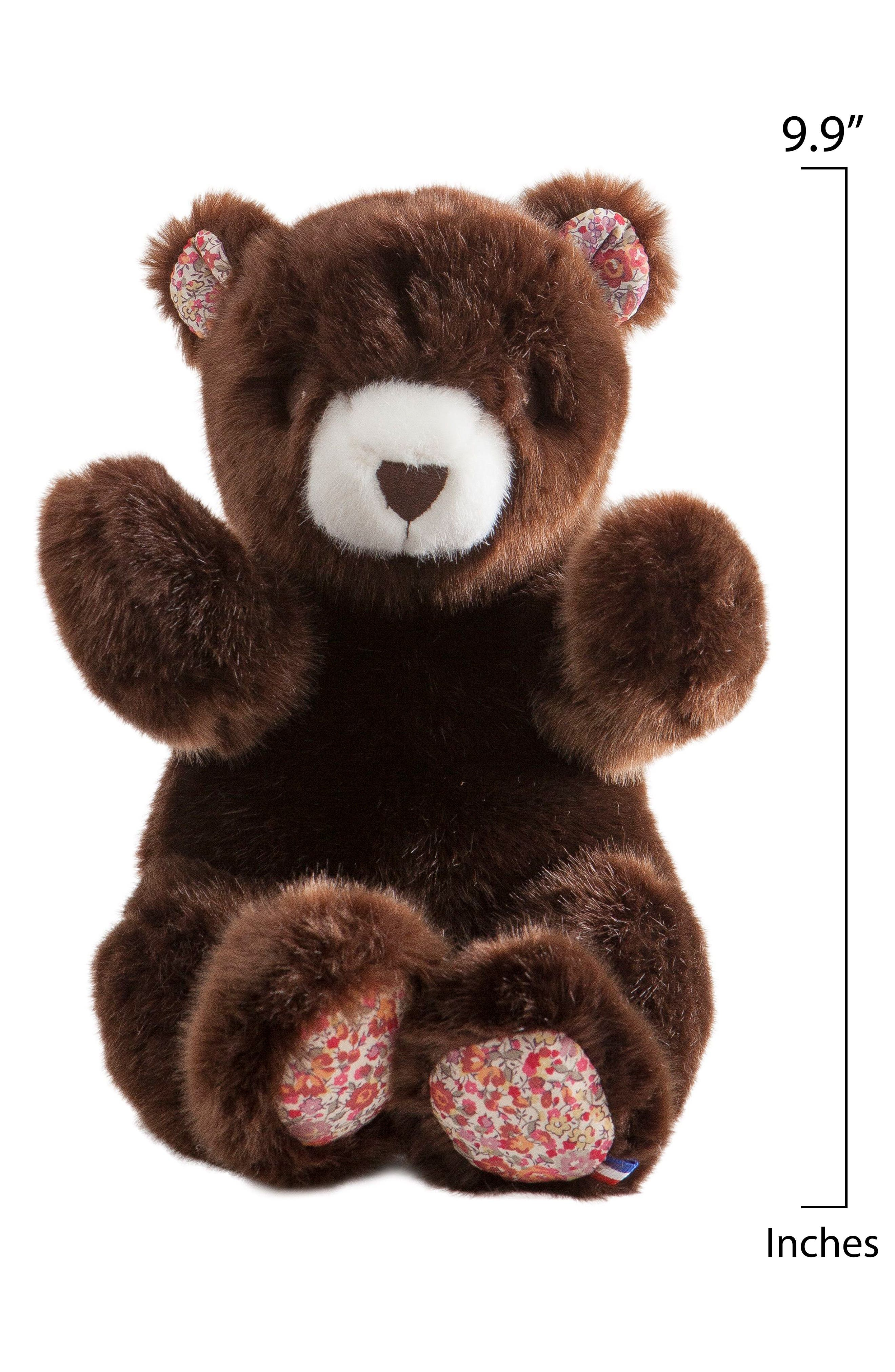 x Liberty of London Robert the Bear Stuffed Animal,                             Alternate thumbnail 2, color,                             BROWN