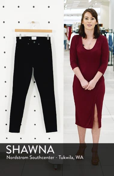 Sierra High Waist Skinny Jeans, sales video thumbnail