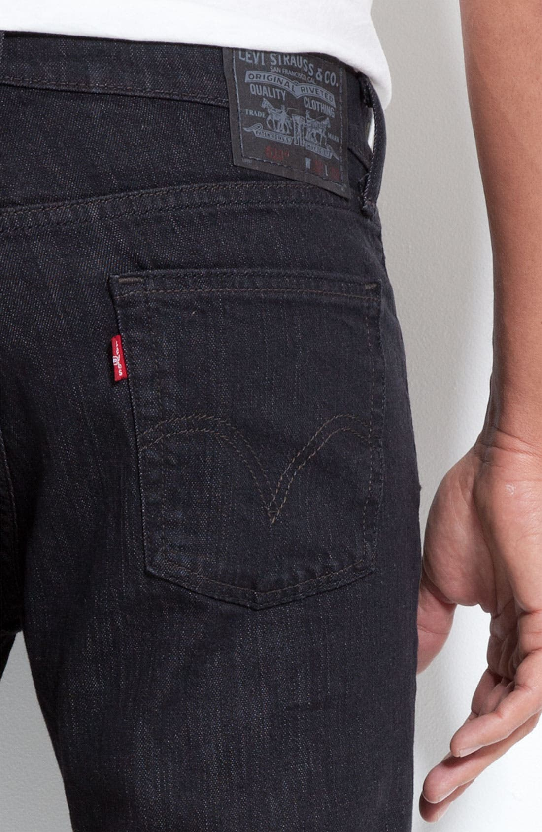513<sup>™</sup> Slim Straight Leg Jeans,                             Alternate thumbnail 2, color,                             019