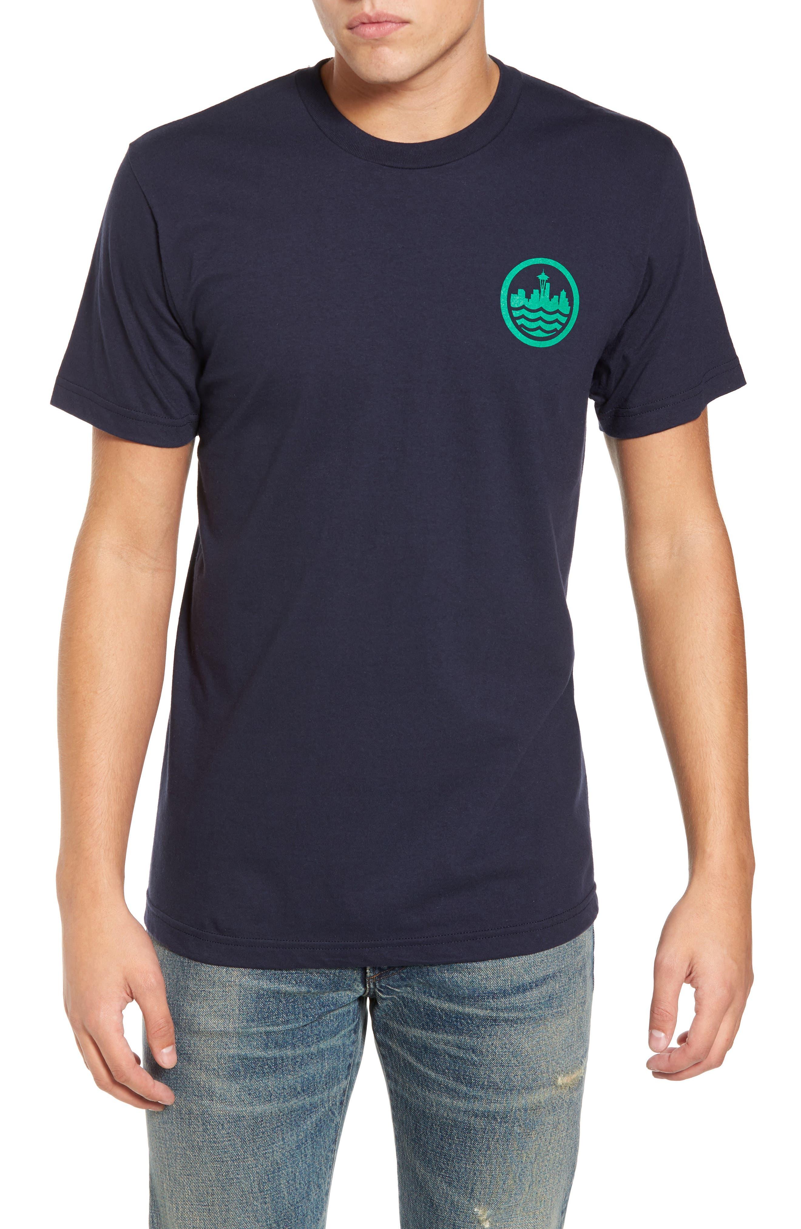 Sea Graphic T-Shirt,                             Main thumbnail 2, color,