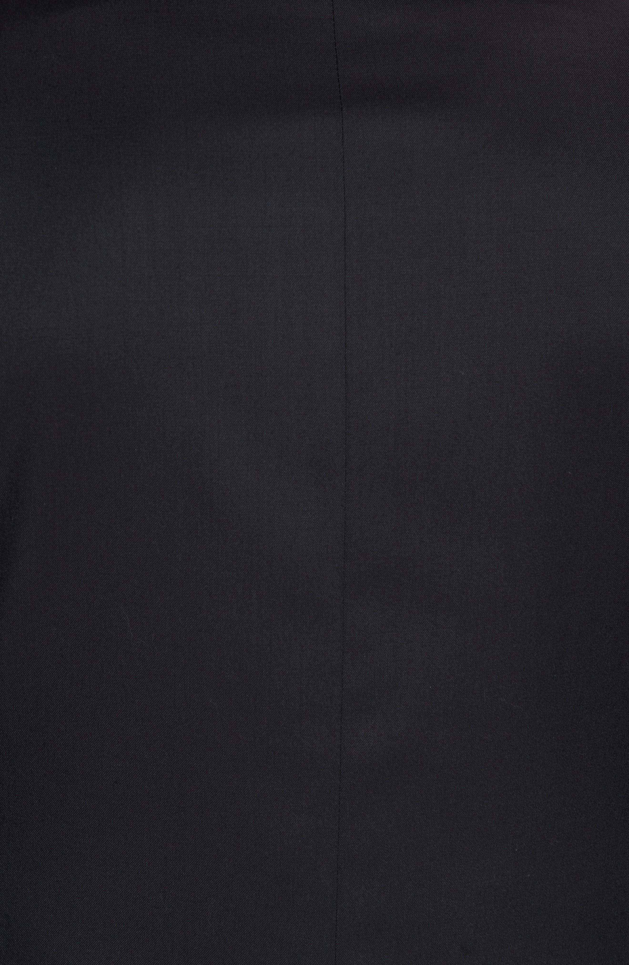 Classic Fit Solid Wool Sport Coat,                             Alternate thumbnail 6, color,                             NAVY