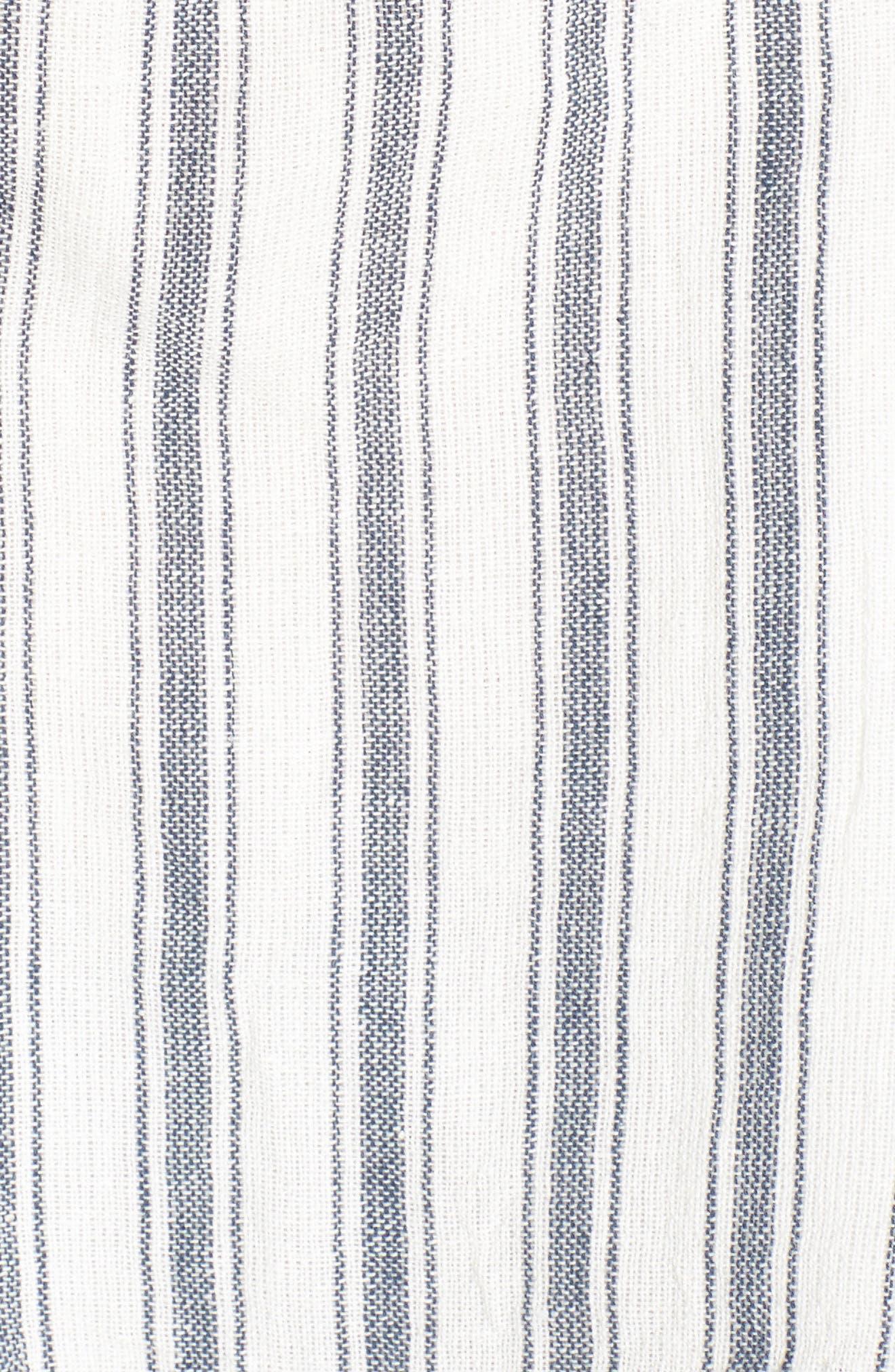 Darby Stripe Halter Top,                             Alternate thumbnail 5, color,                             900