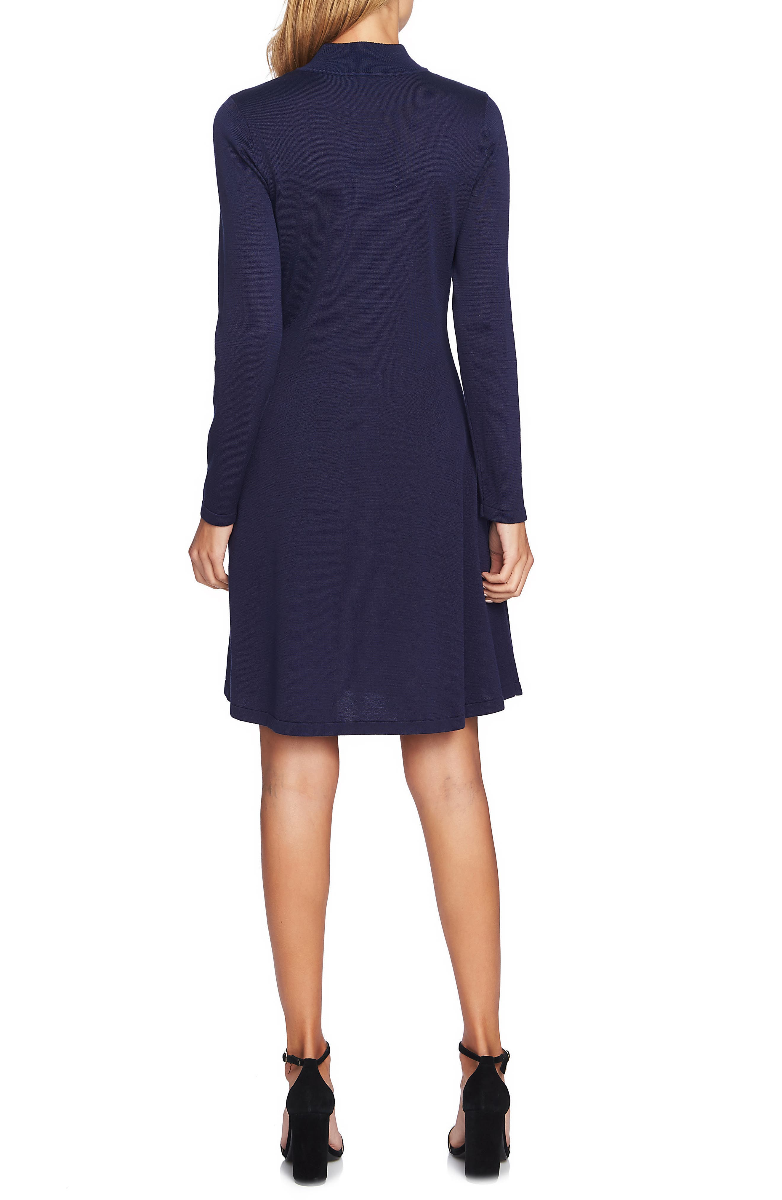 Embellished Sweater Dress,                             Alternate thumbnail 2, color,                             MIDNIGHT BLOOM