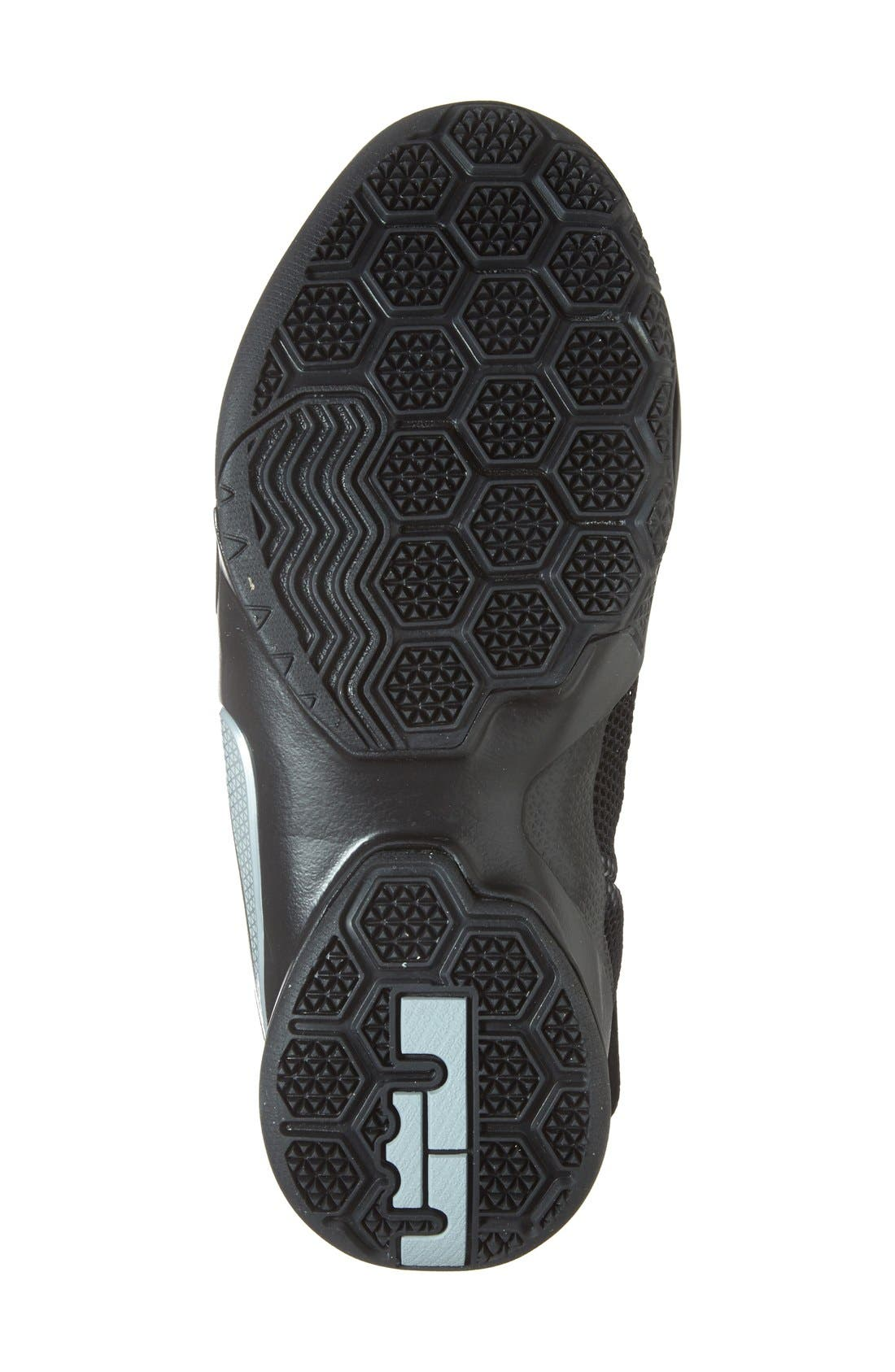 'LeBron Soldier 9' Basketball Shoe,                             Alternate thumbnail 3, color,                             001