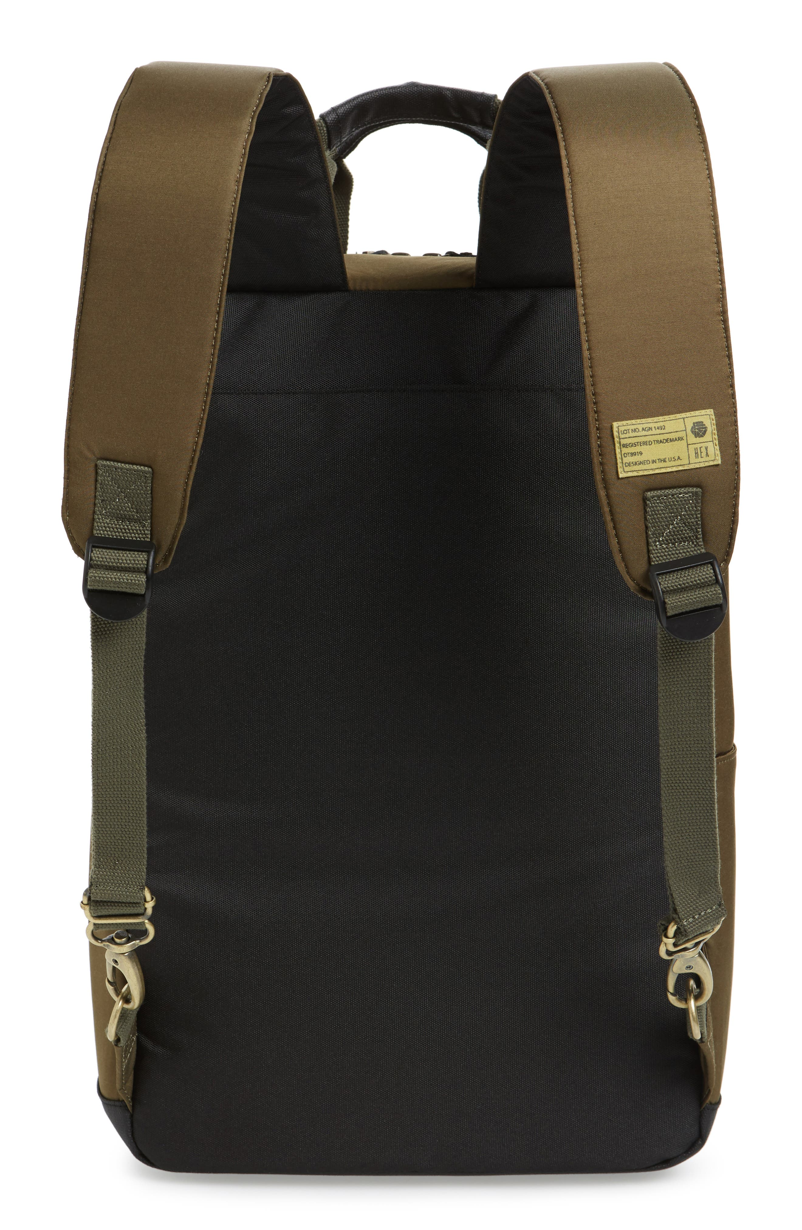 Supply Convertible Water Resistant Backpack,                             Alternate thumbnail 15, color,
