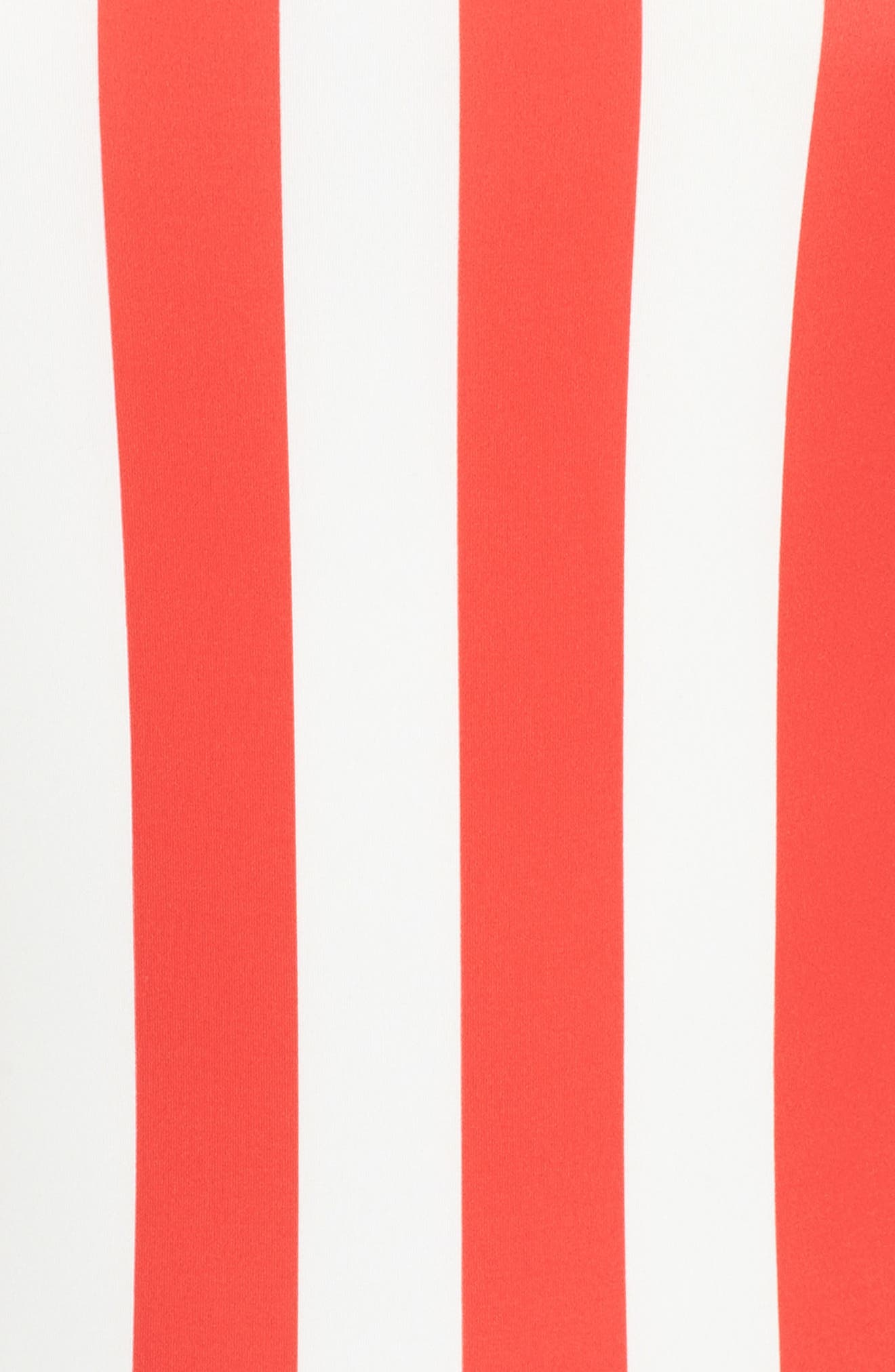 Striped & Solid Chelsea One-Piece Swimsuit,                             Alternate thumbnail 9, color,