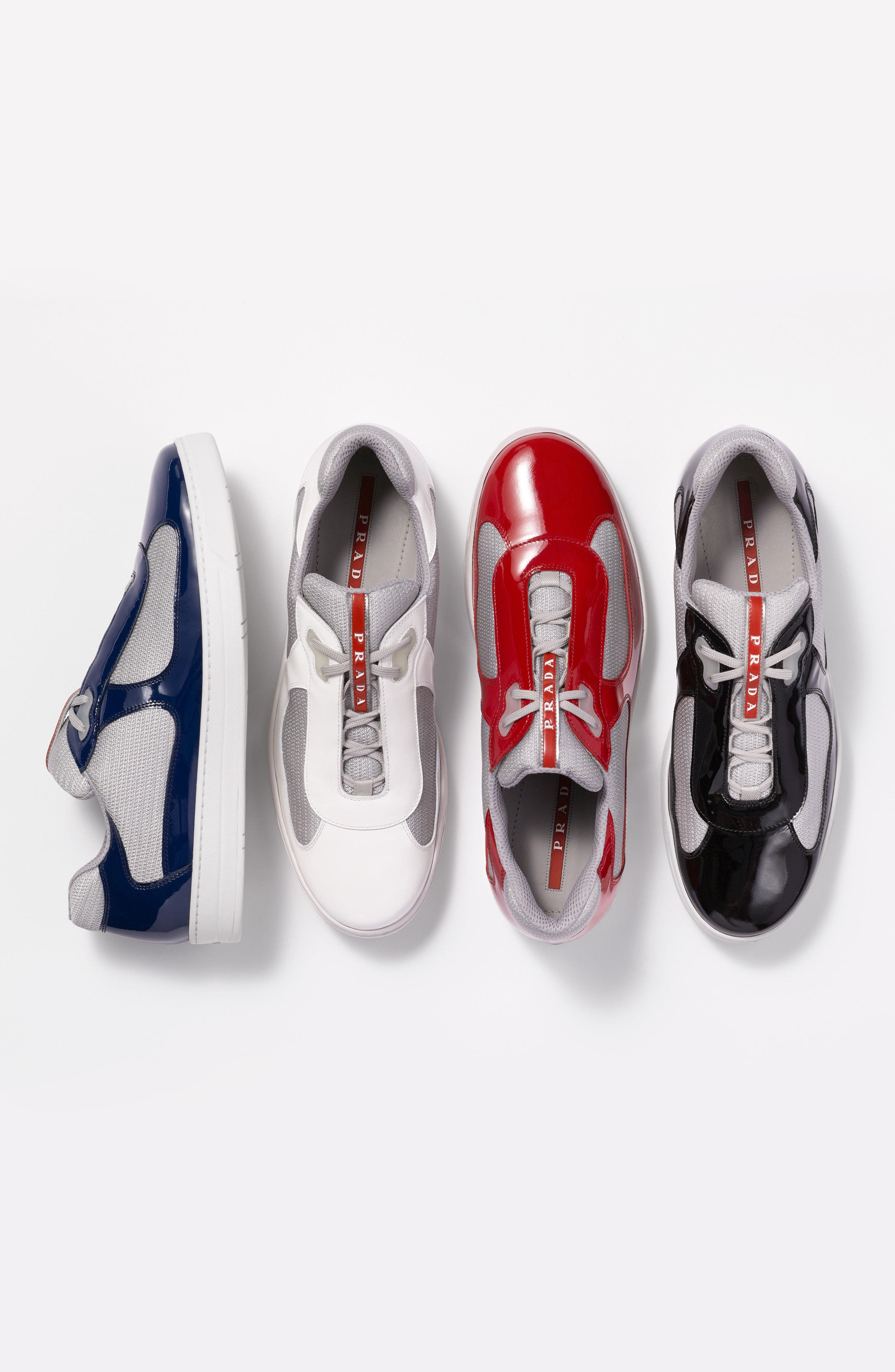 Linea Rossa New America's Cup Sneaker,                             Alternate thumbnail 7, color,                             009