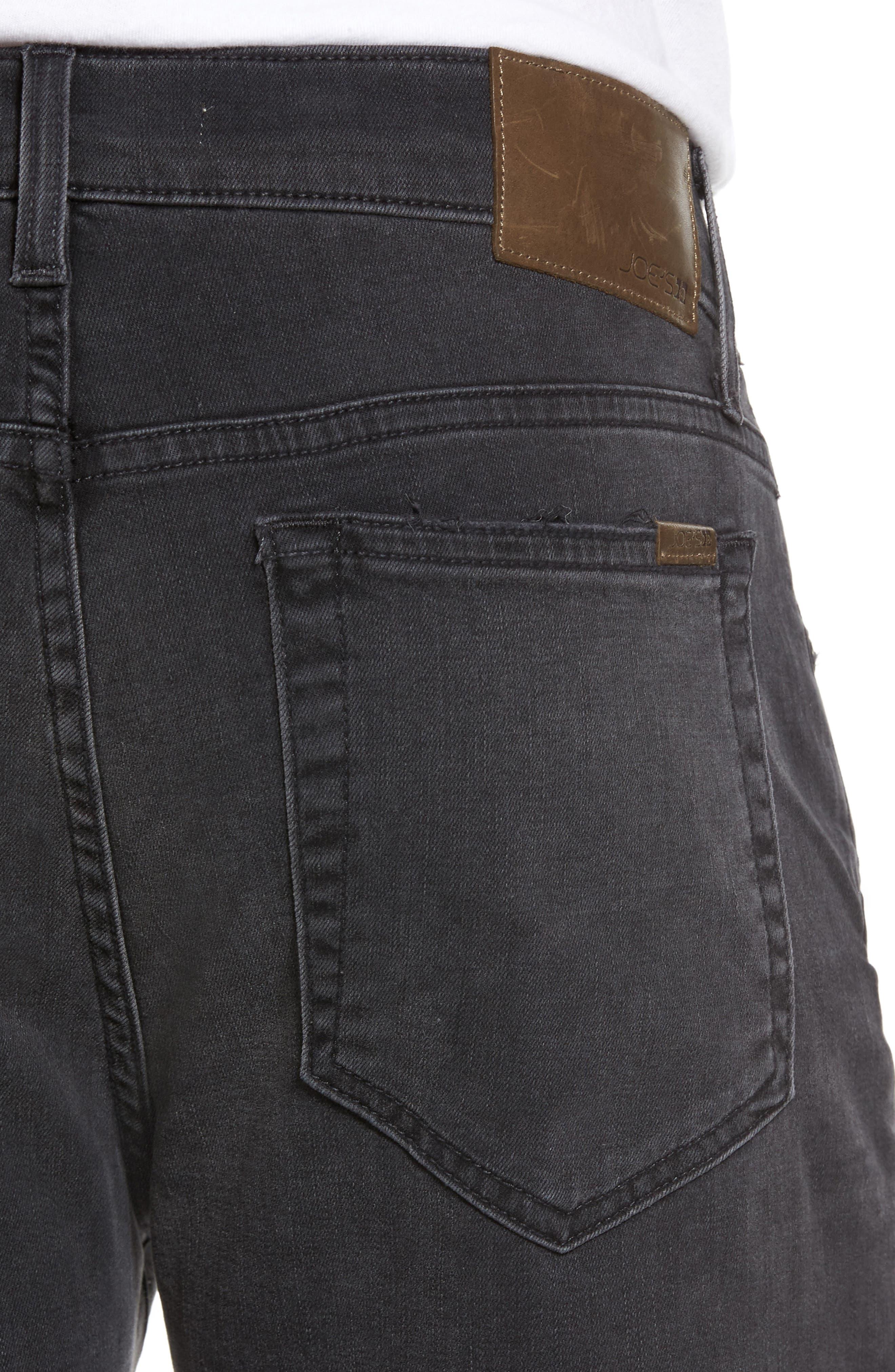 Brixton Slim Straight Fit Jeans,                             Alternate thumbnail 4, color,                             015