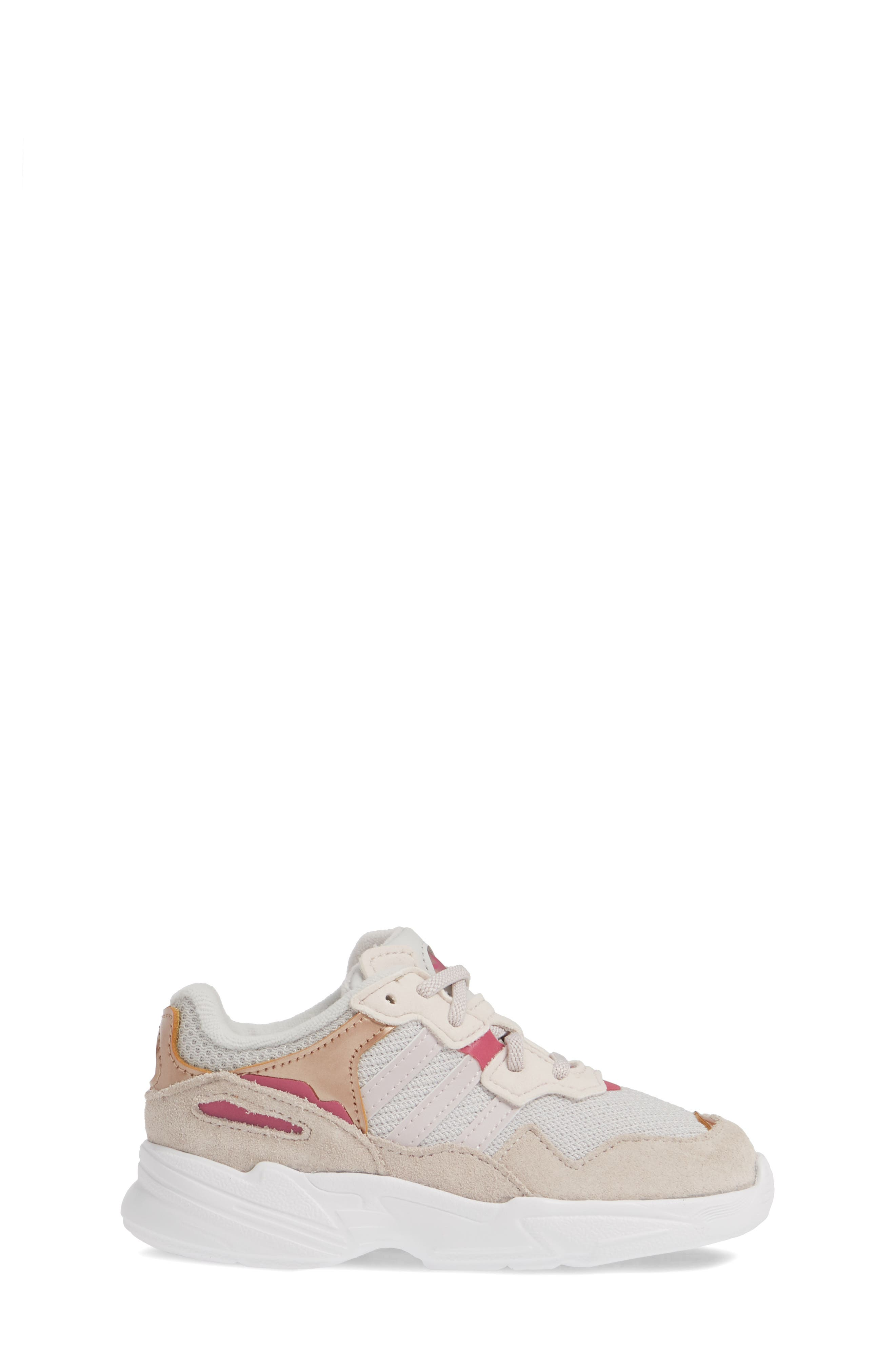 Yung-96 Sneaker,                             Alternate thumbnail 3, color,                             GREY TWO/ ORCHID/ TRUE PINK
