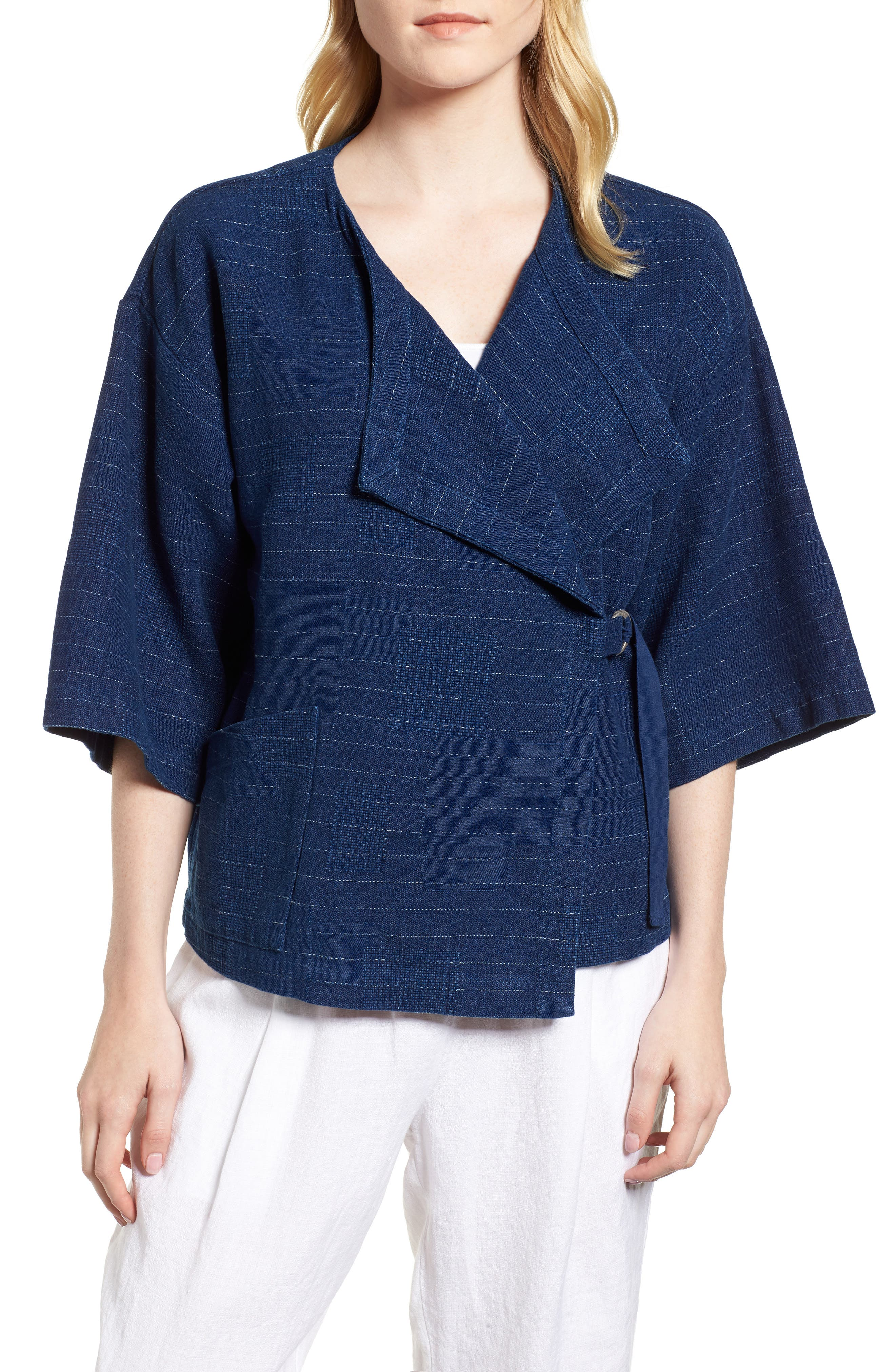 Belted Kimono Jacket,                             Main thumbnail 1, color,                             402