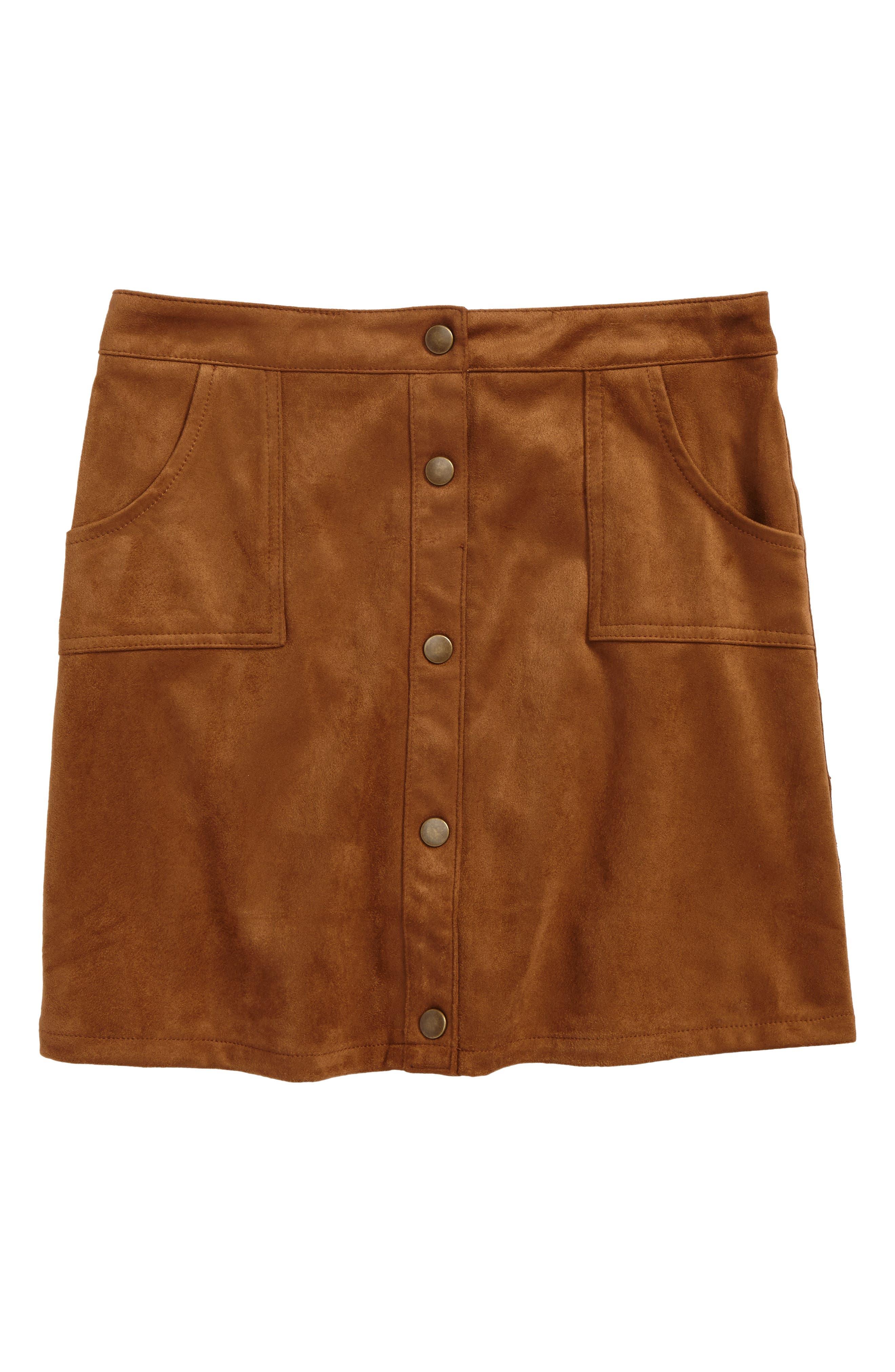 Velvet A-Line Skirt,                         Main,                         color, 200