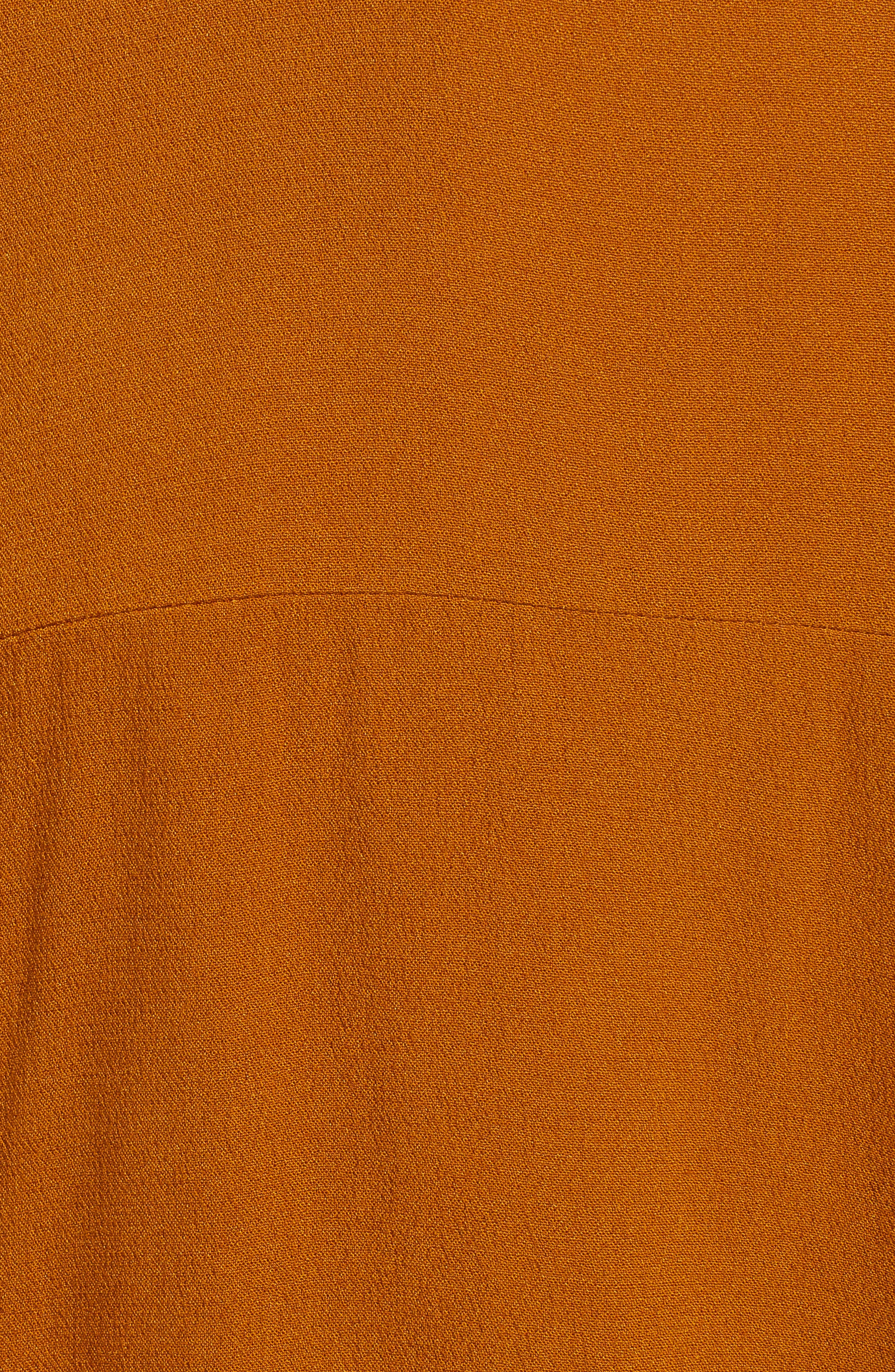 Button Back Top,                             Alternate thumbnail 5, color,                             CATHAY SPICE