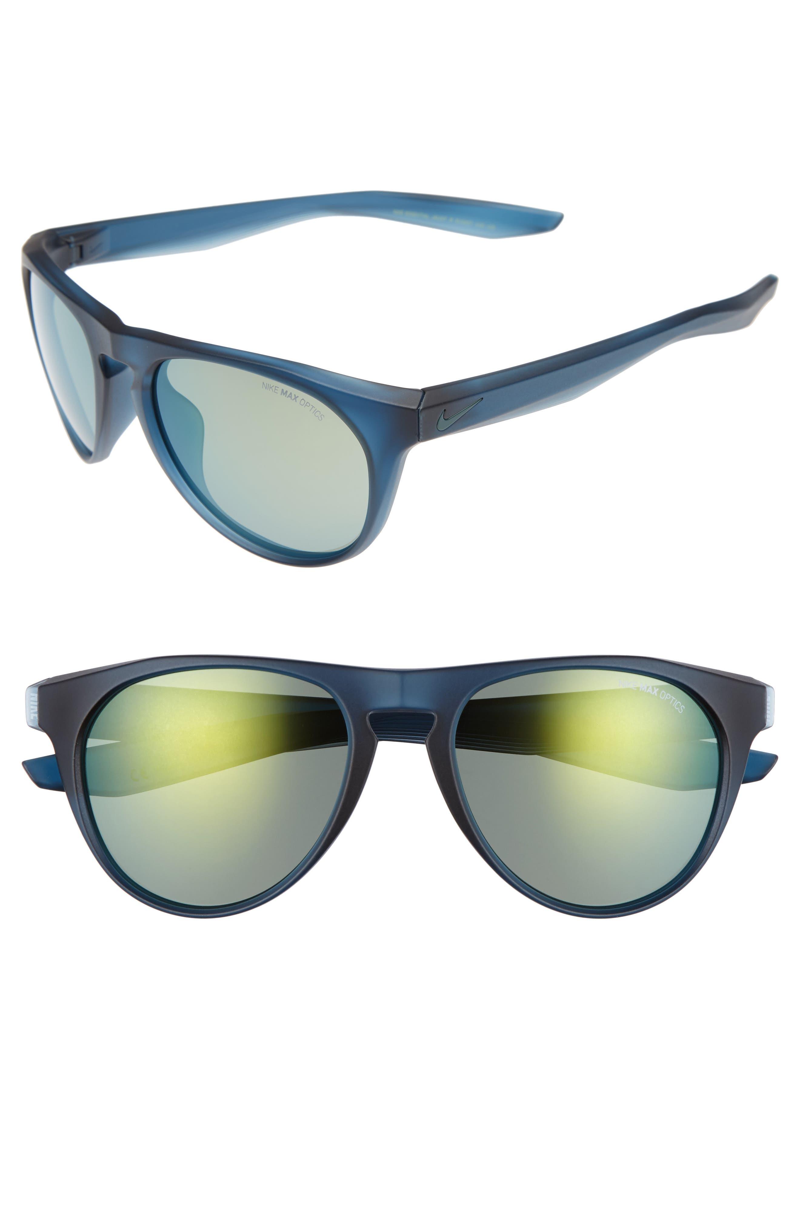 Nike Essential Jaunt R 5m Sunglasses - Matte Squadron Blue