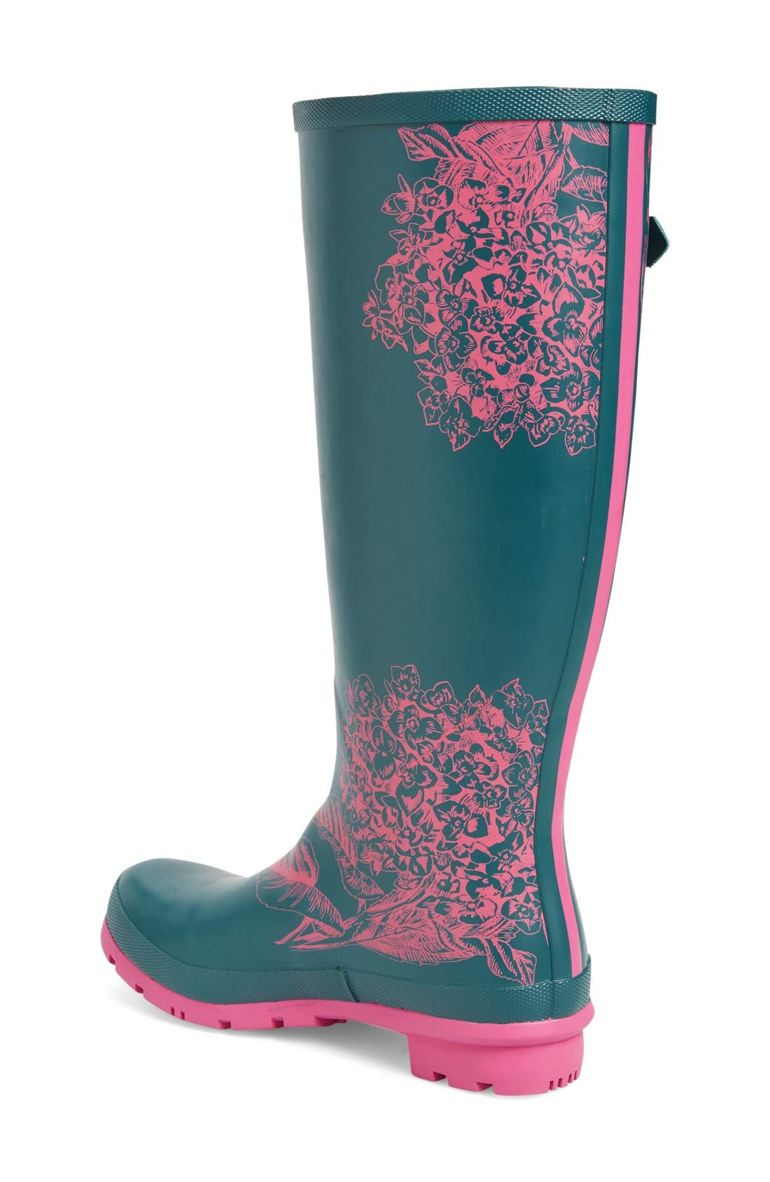 'Welly' Print Rain Boot,                             Alternate thumbnail 59, color,