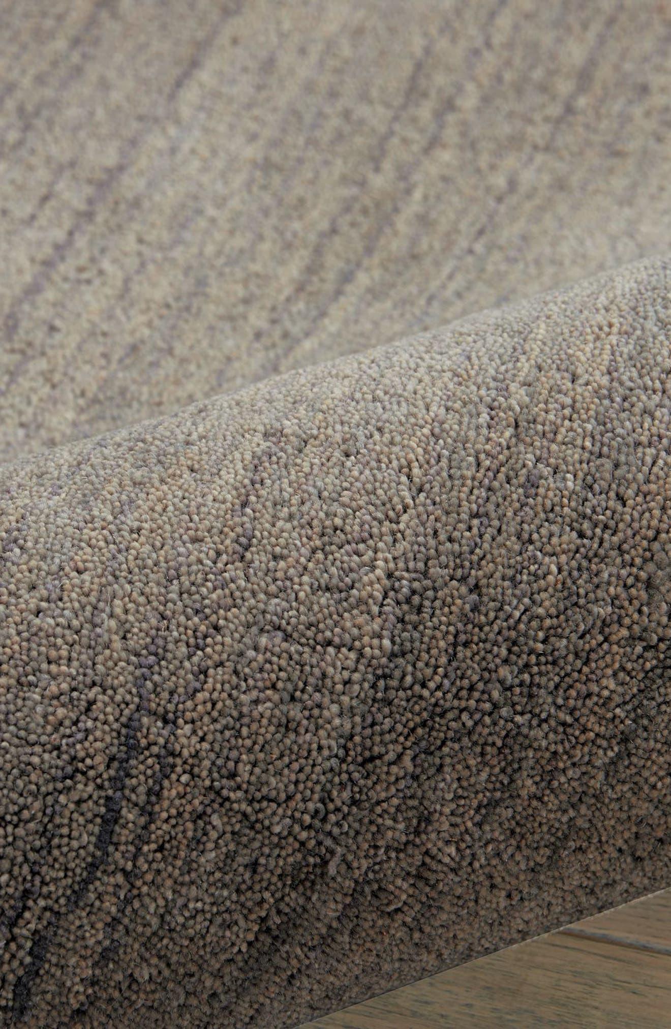 Haze Smoke Wool Area Rug,                             Alternate thumbnail 2, color,                             030