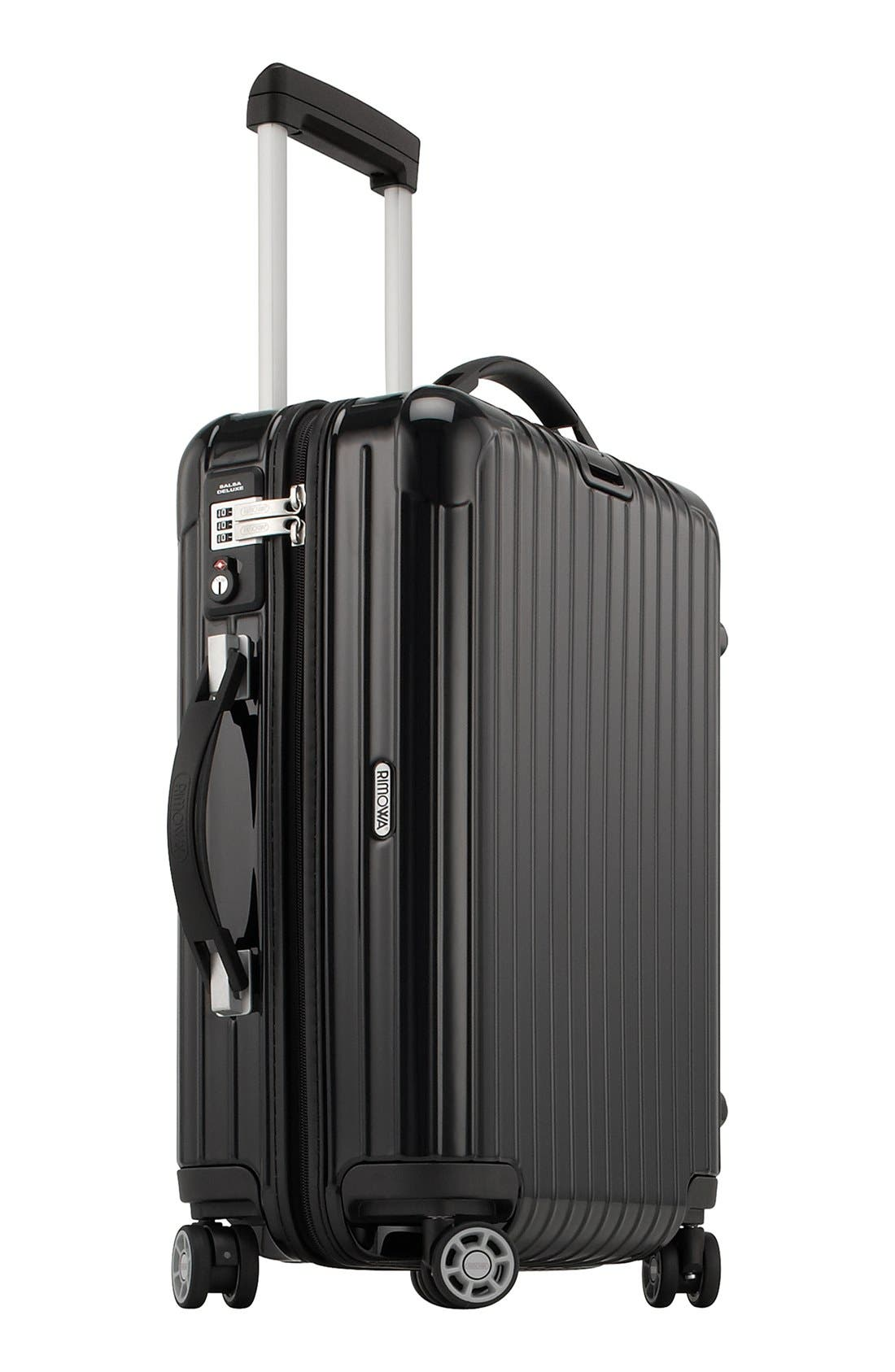 Salsa 22-Inch Deluxe Cabin Multiwheel<sup>®</sup> Carry-On,                             Alternate thumbnail 3, color,                             001