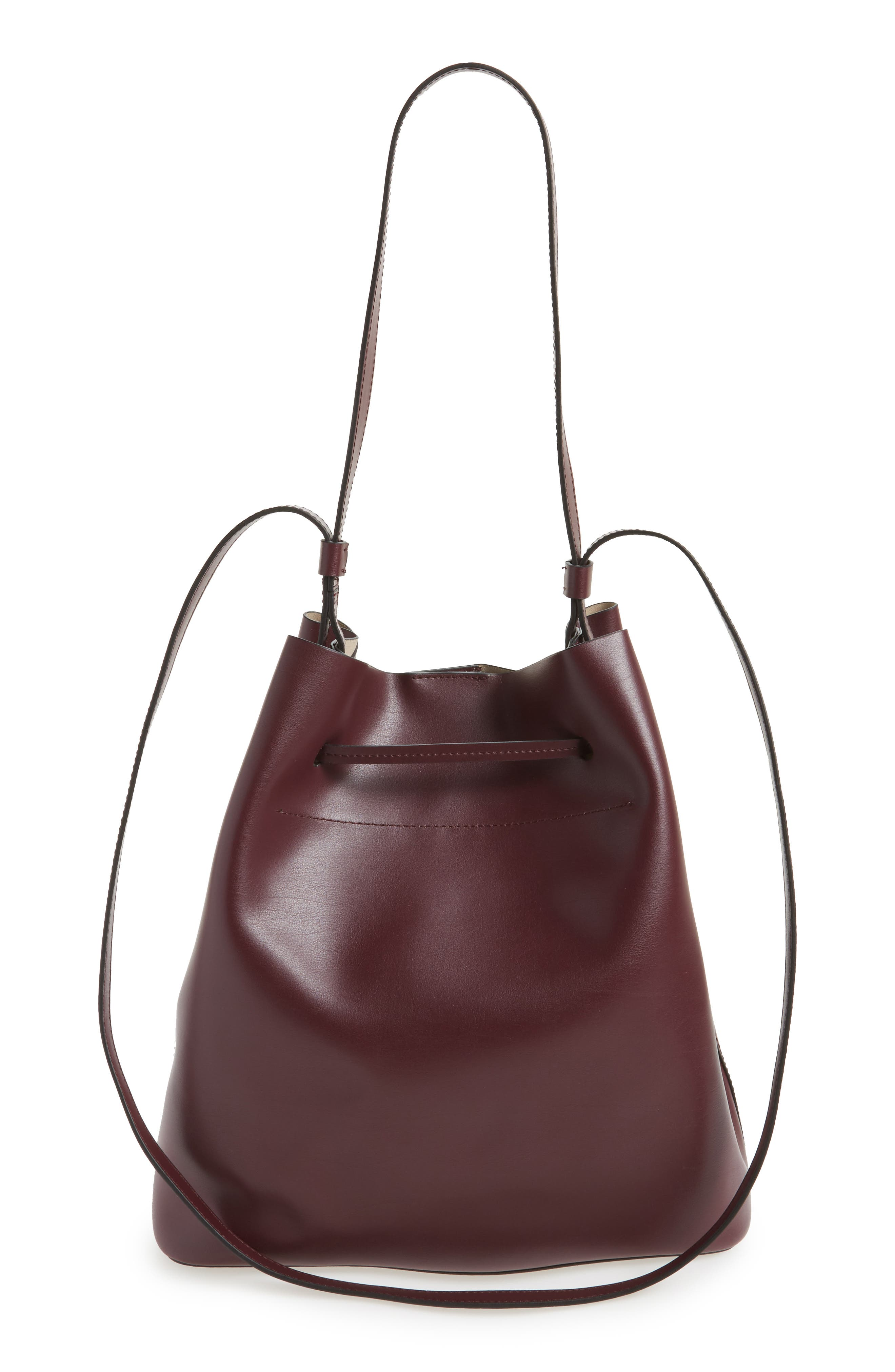 Silicon Valley Large Halina Leather Bucket Bag,                             Alternate thumbnail 9, color,