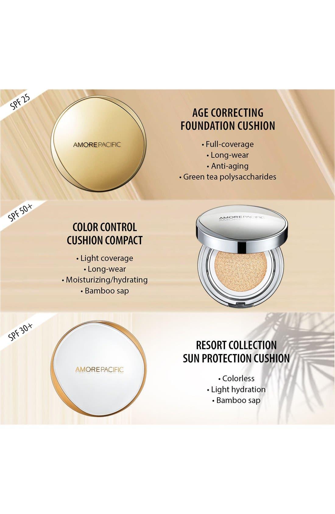 'Resort' Sun Protection Cushion Broad Spectrum SPF 30+,                             Alternate thumbnail 4, color,                             NO COLOR