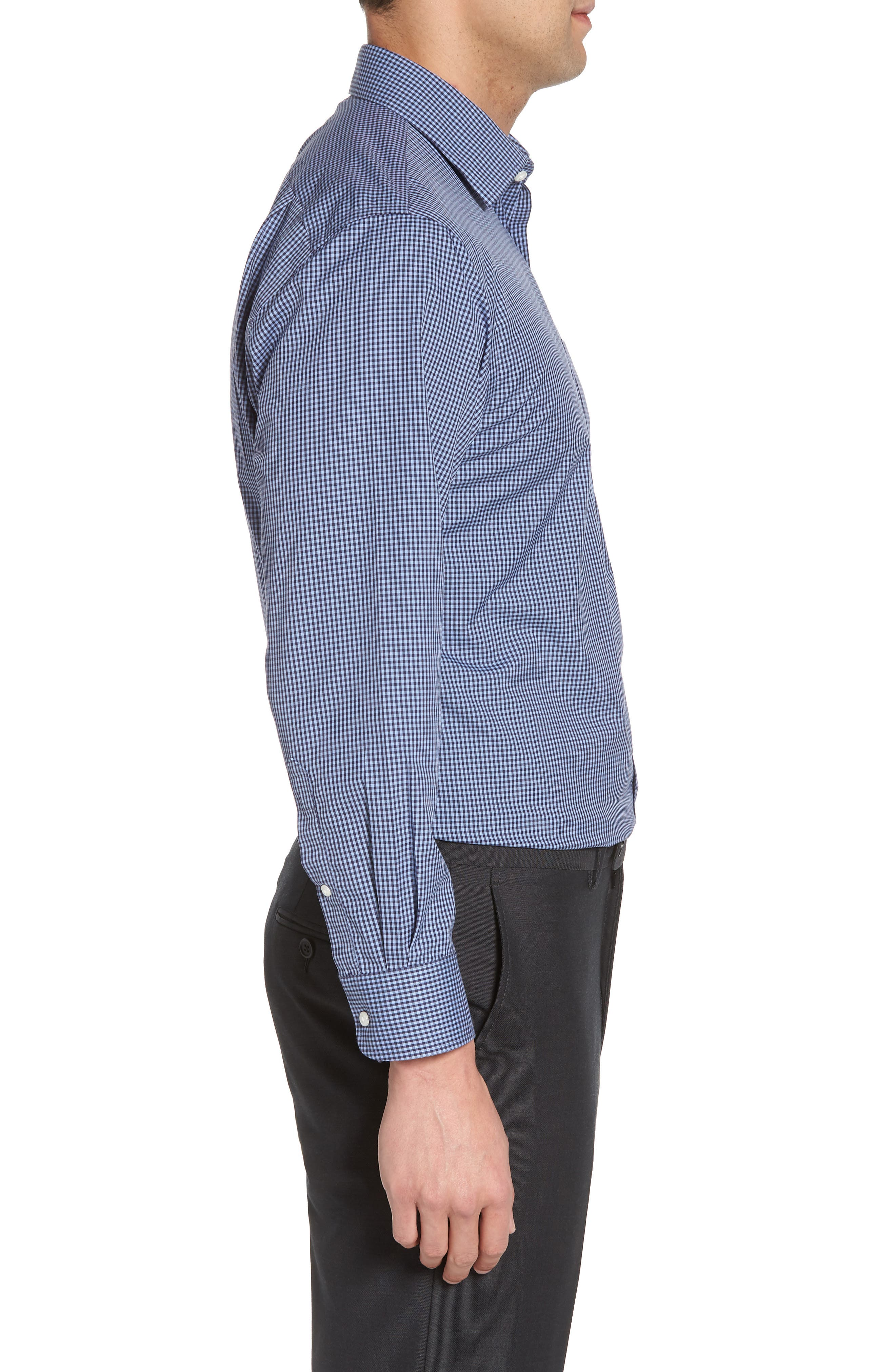 Smartcare<sup>™</sup> Traditional Fit Check Dress Shirt,                             Alternate thumbnail 13, color,