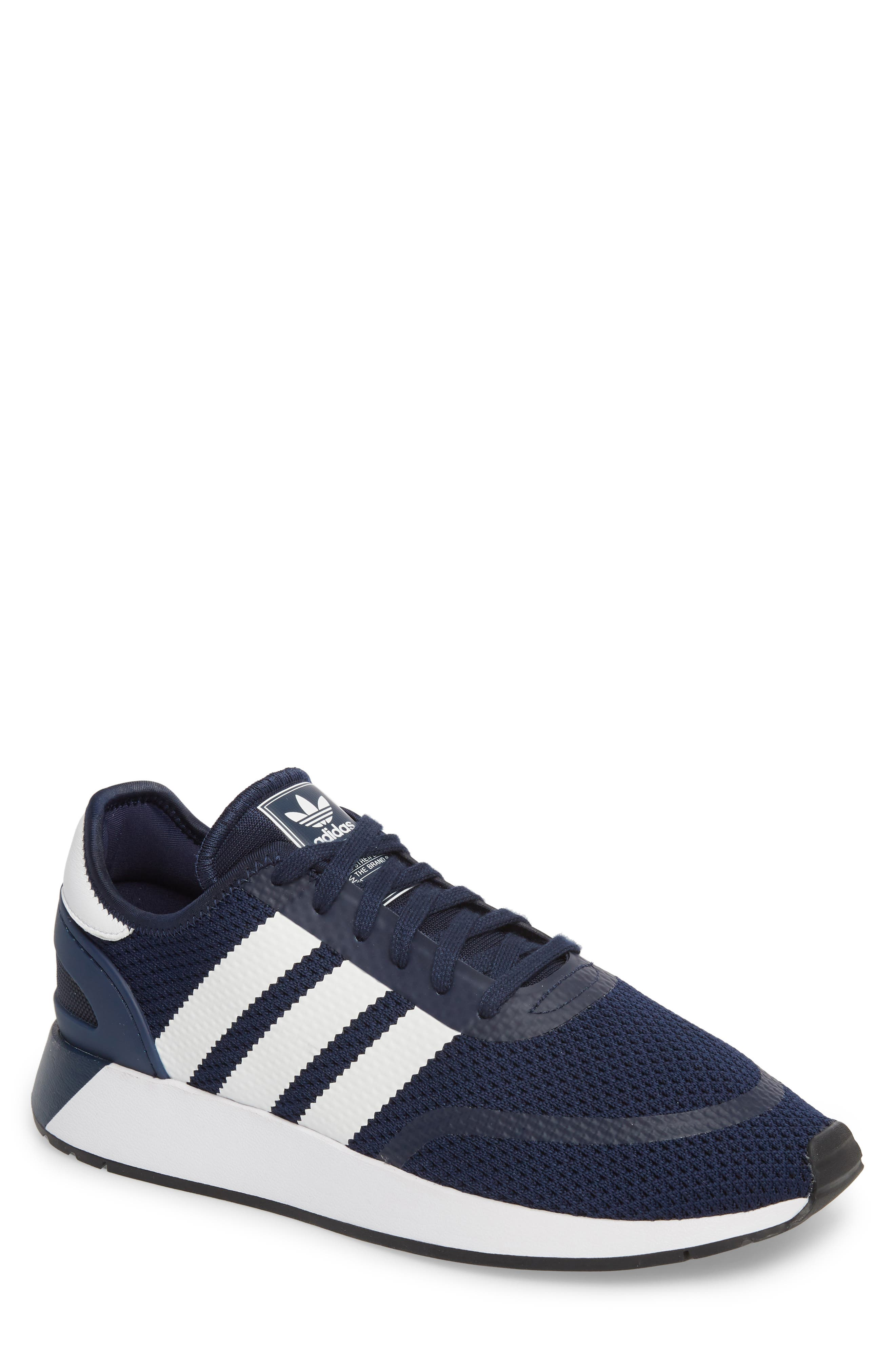 N-5923 Sneaker,                         Main,                         color, NAVY/ WHITE/ CORE BLACK