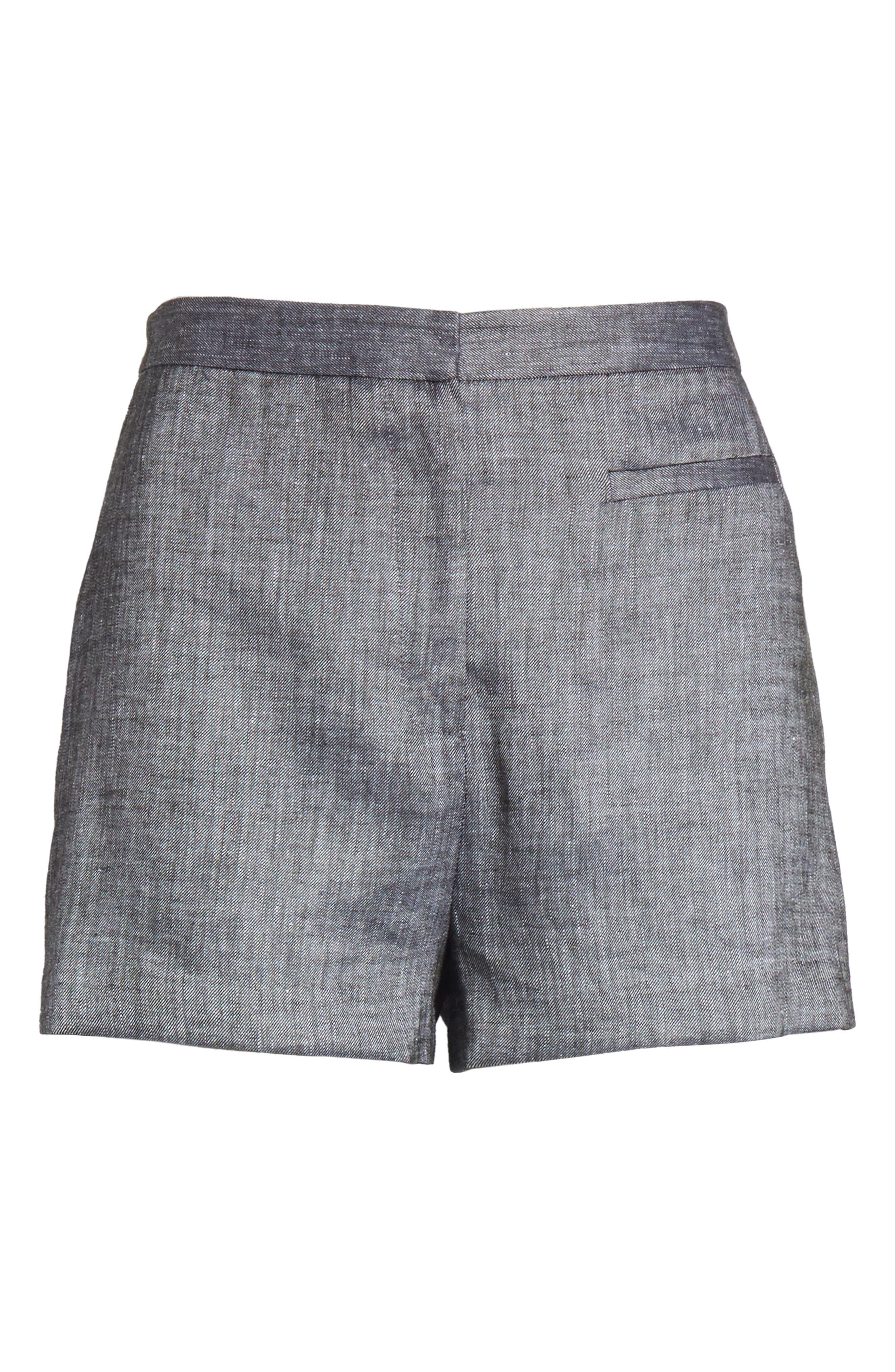 Trudee High Waist Shorts,                             Alternate thumbnail 6, color,                             309