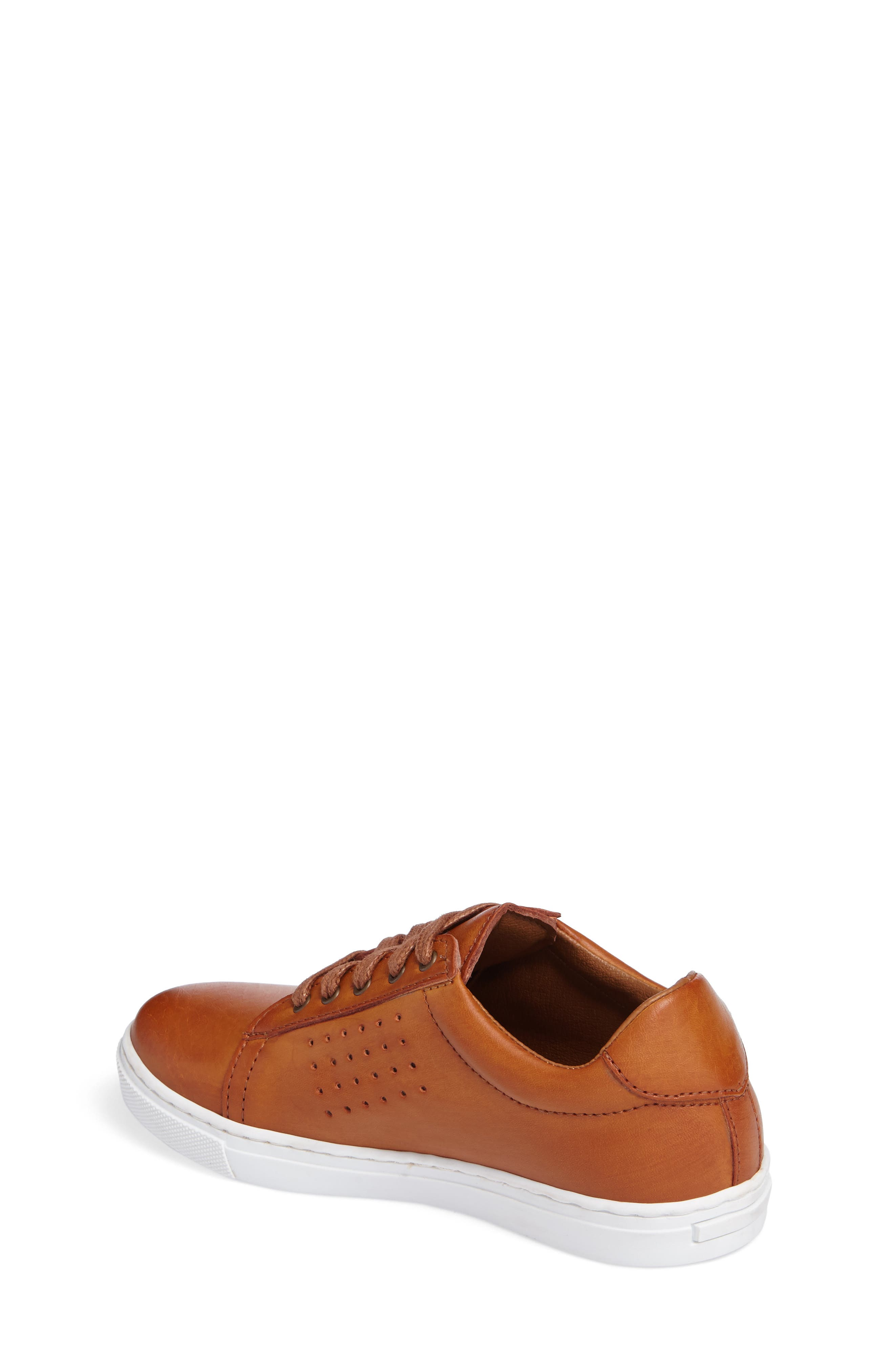 Grafte Perforated Sneaker,                             Alternate thumbnail 2, color,                             NATURALE