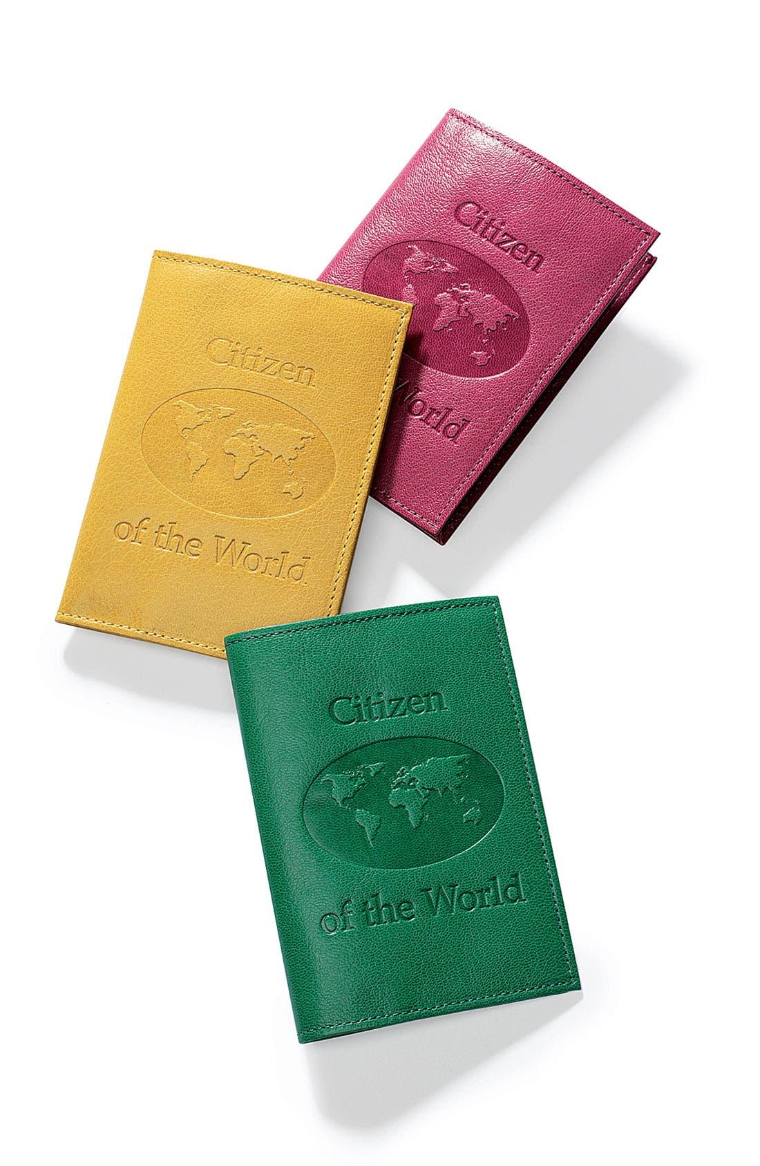 'Citizen of the World' Passport Holder,                             Alternate thumbnail 2, color,                             300