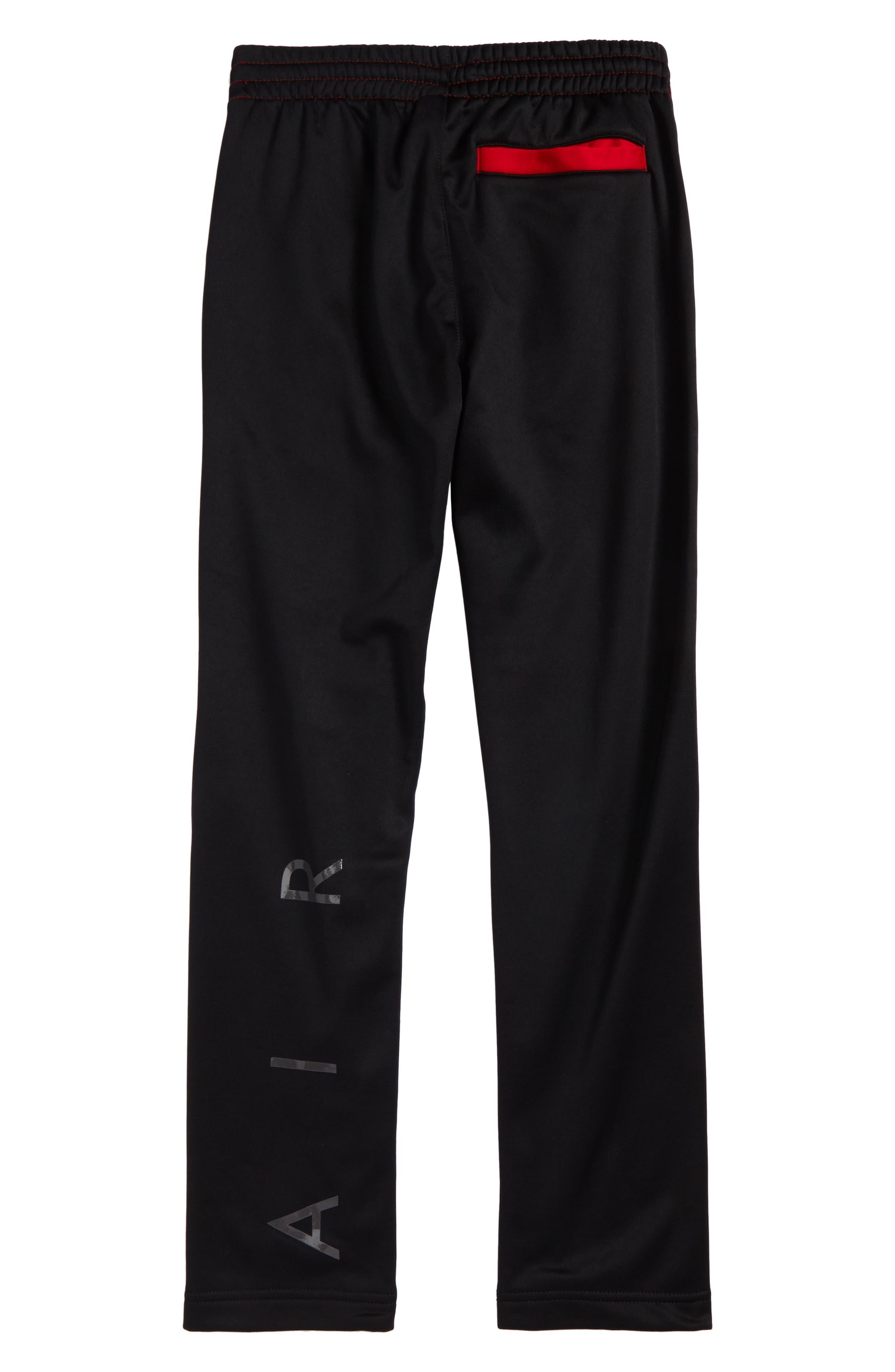 Jordan Flight Air Therma-FIT Reversible Fleece Pants,                             Alternate thumbnail 4, color,
