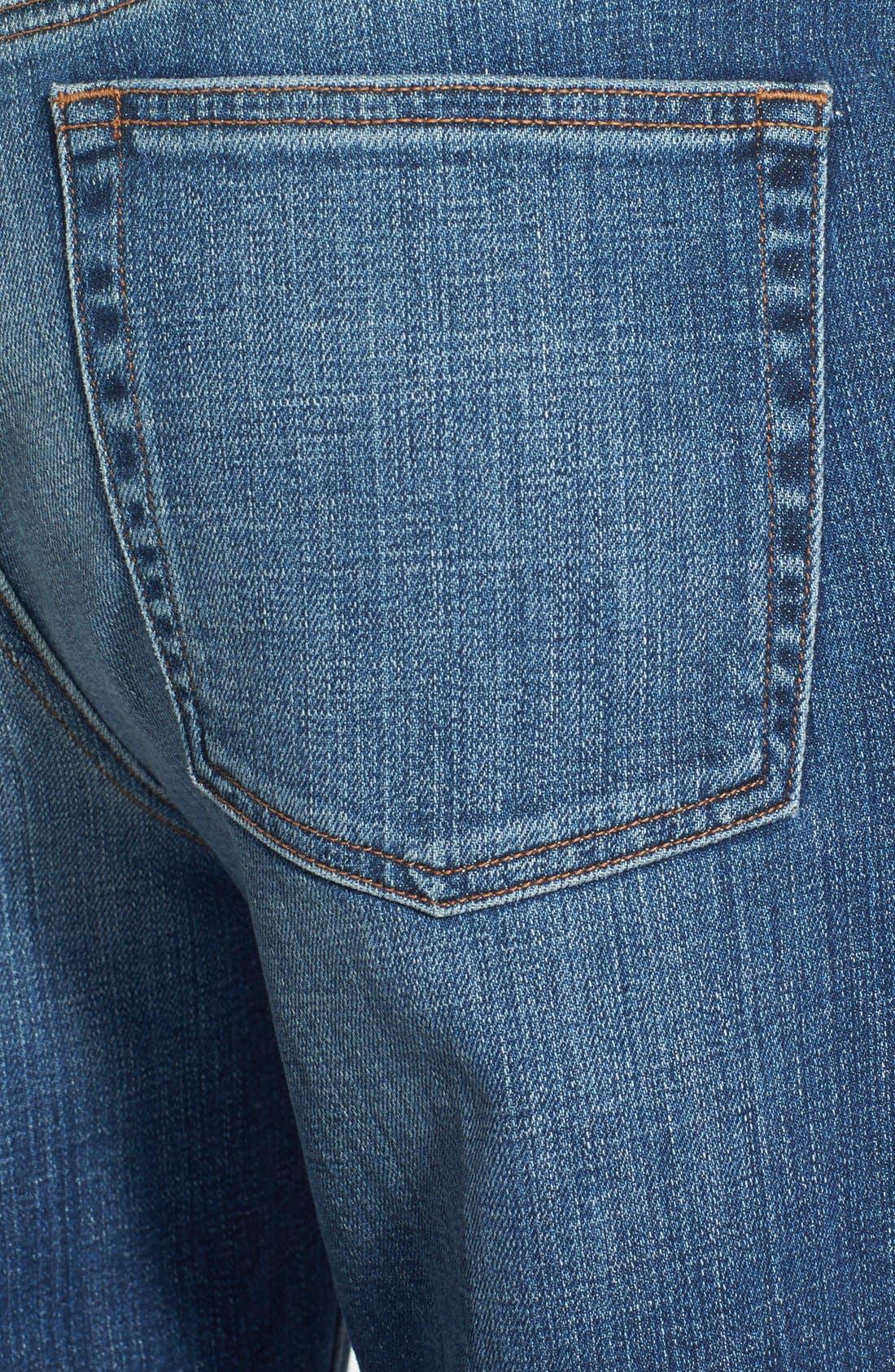 Organic Cotton Boyfriend Jeans,                             Alternate thumbnail 9, color,                             400