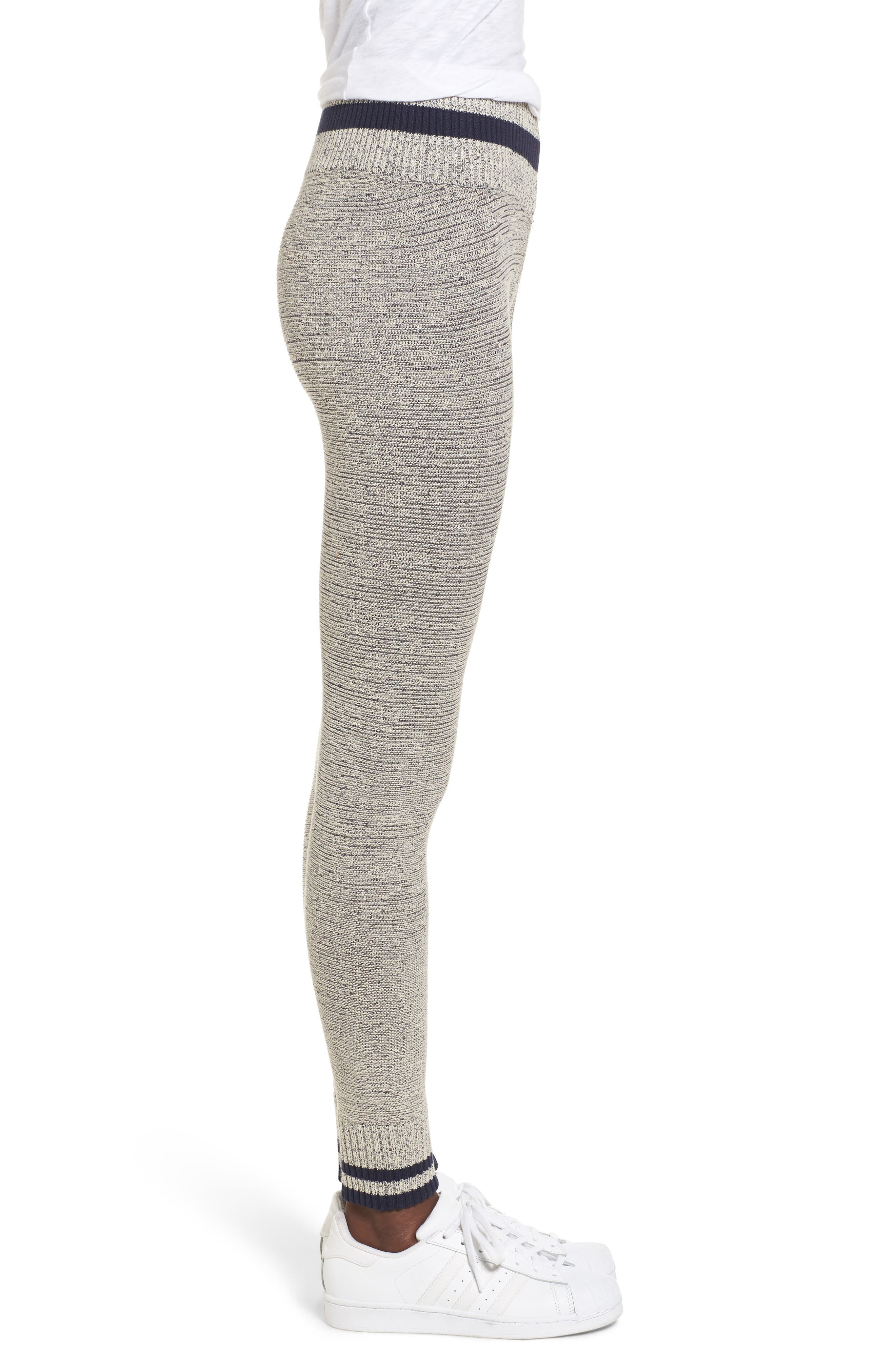 Loomed Knit Leggings,                             Alternate thumbnail 3, color,                             054