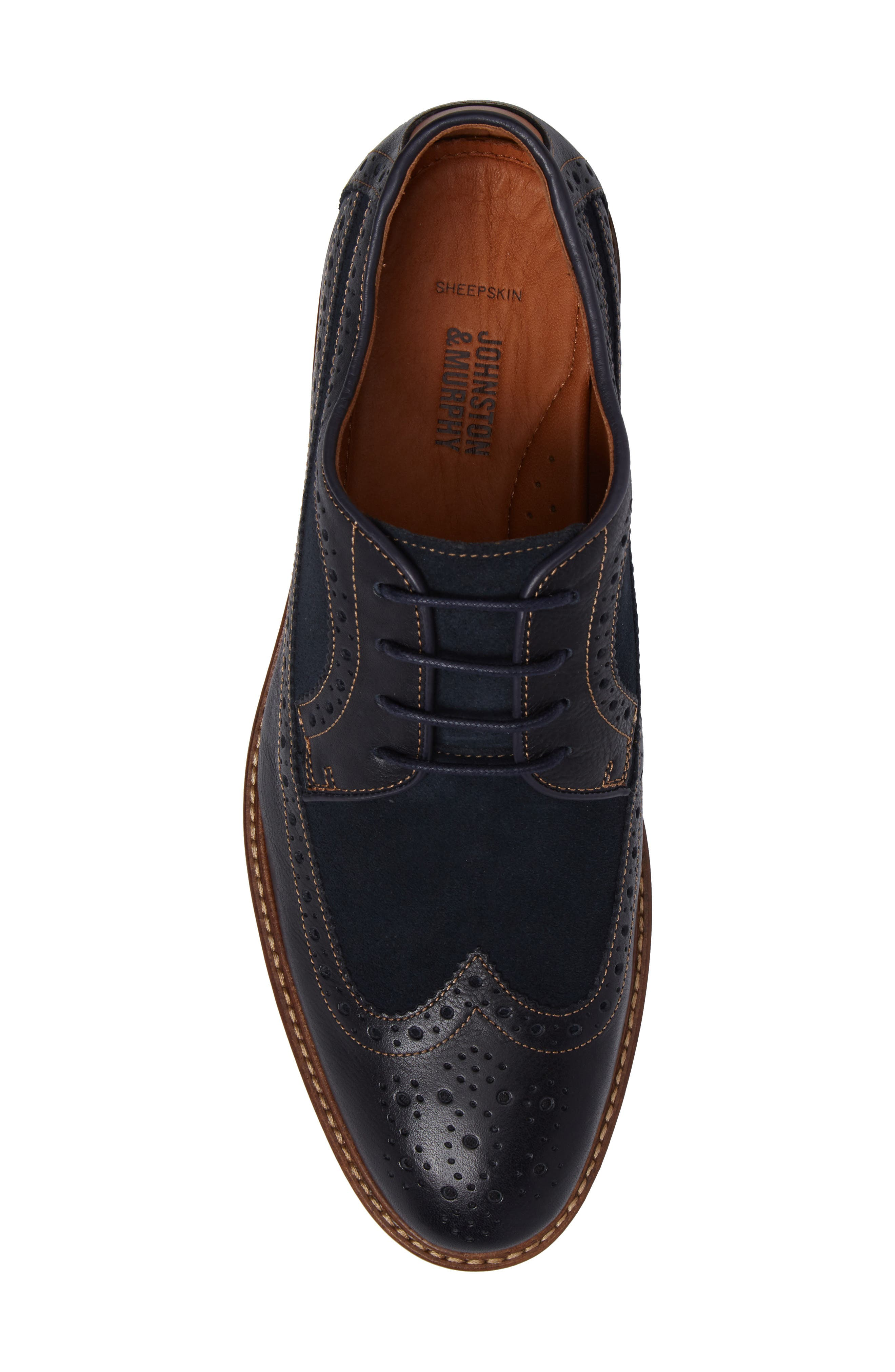 Warner Spectator Shoe,                             Alternate thumbnail 15, color,