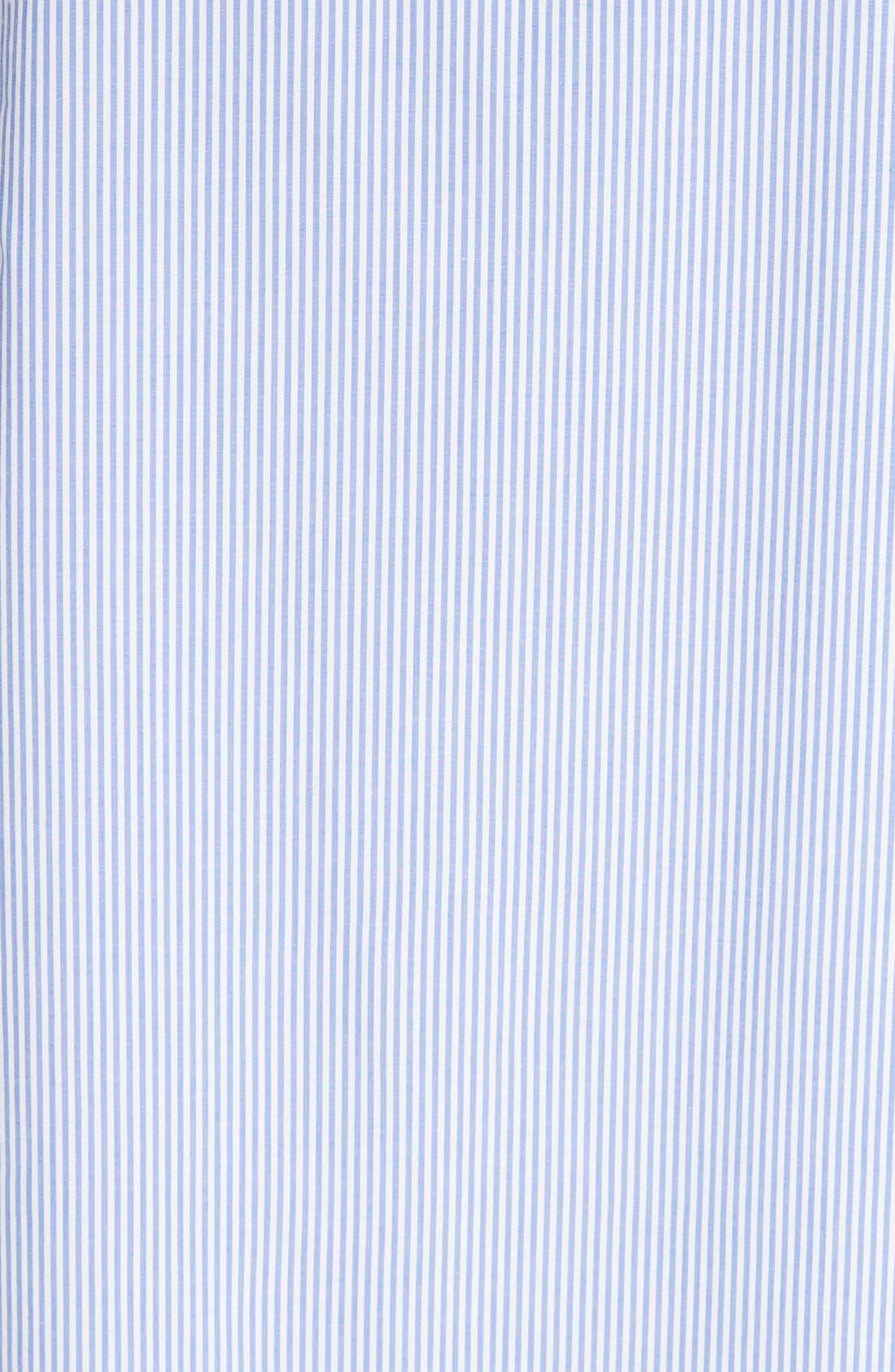 Elliot Stripe Trapeze Dress,                             Alternate thumbnail 3, color,                             400