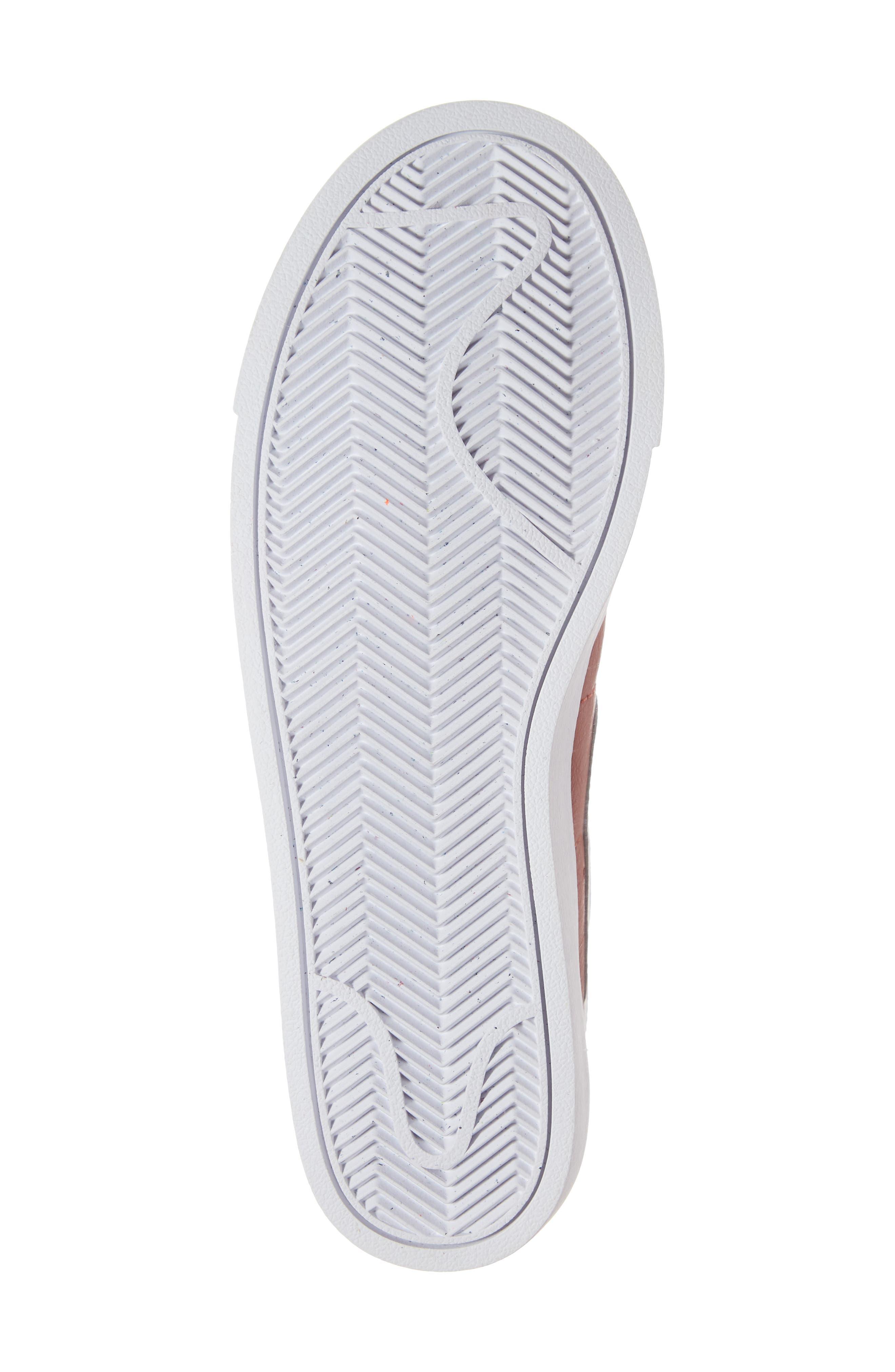 Blazer Low SE Sneaker,                             Alternate thumbnail 6, color,                             DUNE RED/ WHITE-DUNE RED