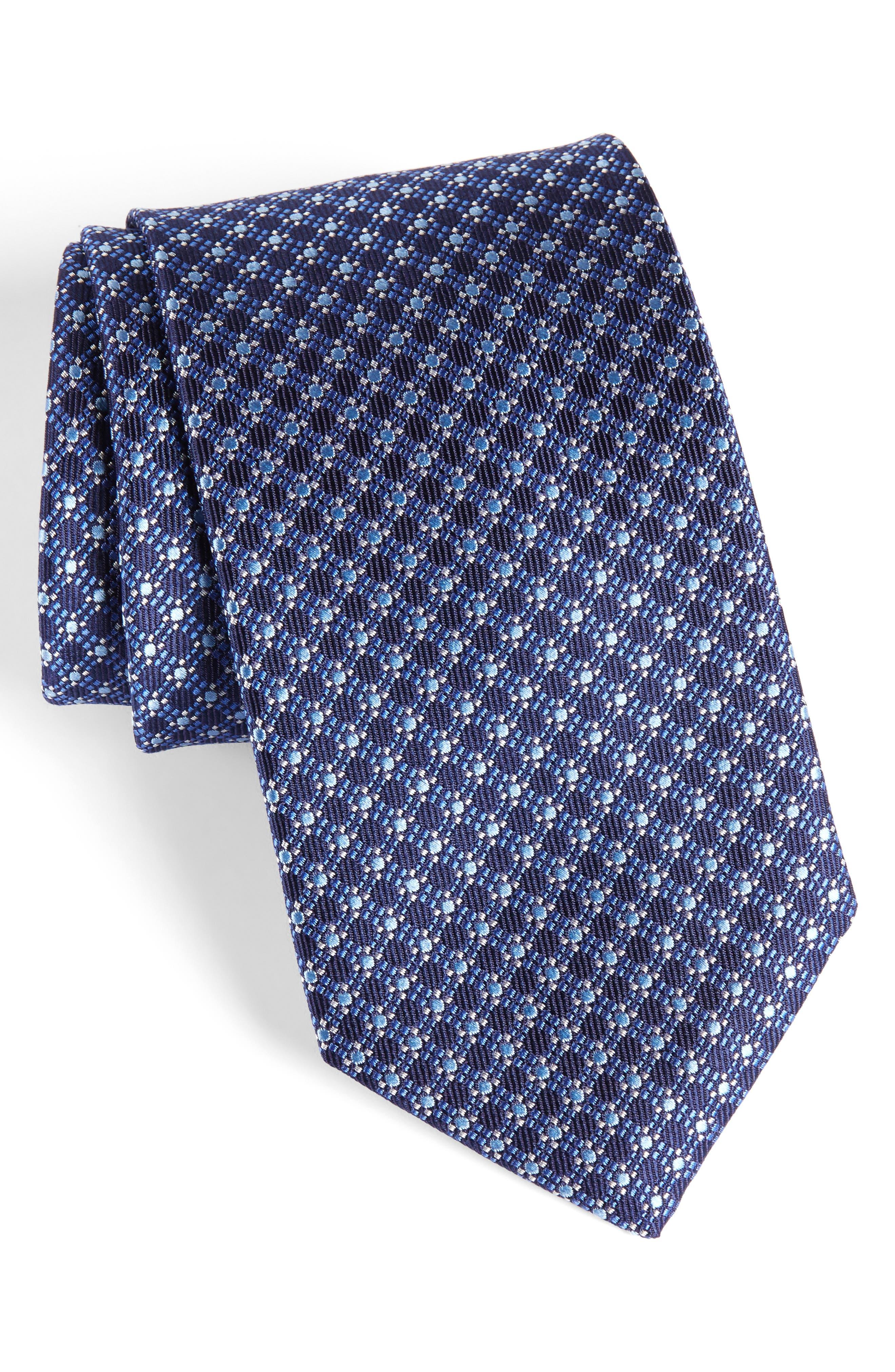 Neat Silk Tie,                             Main thumbnail 2, color,