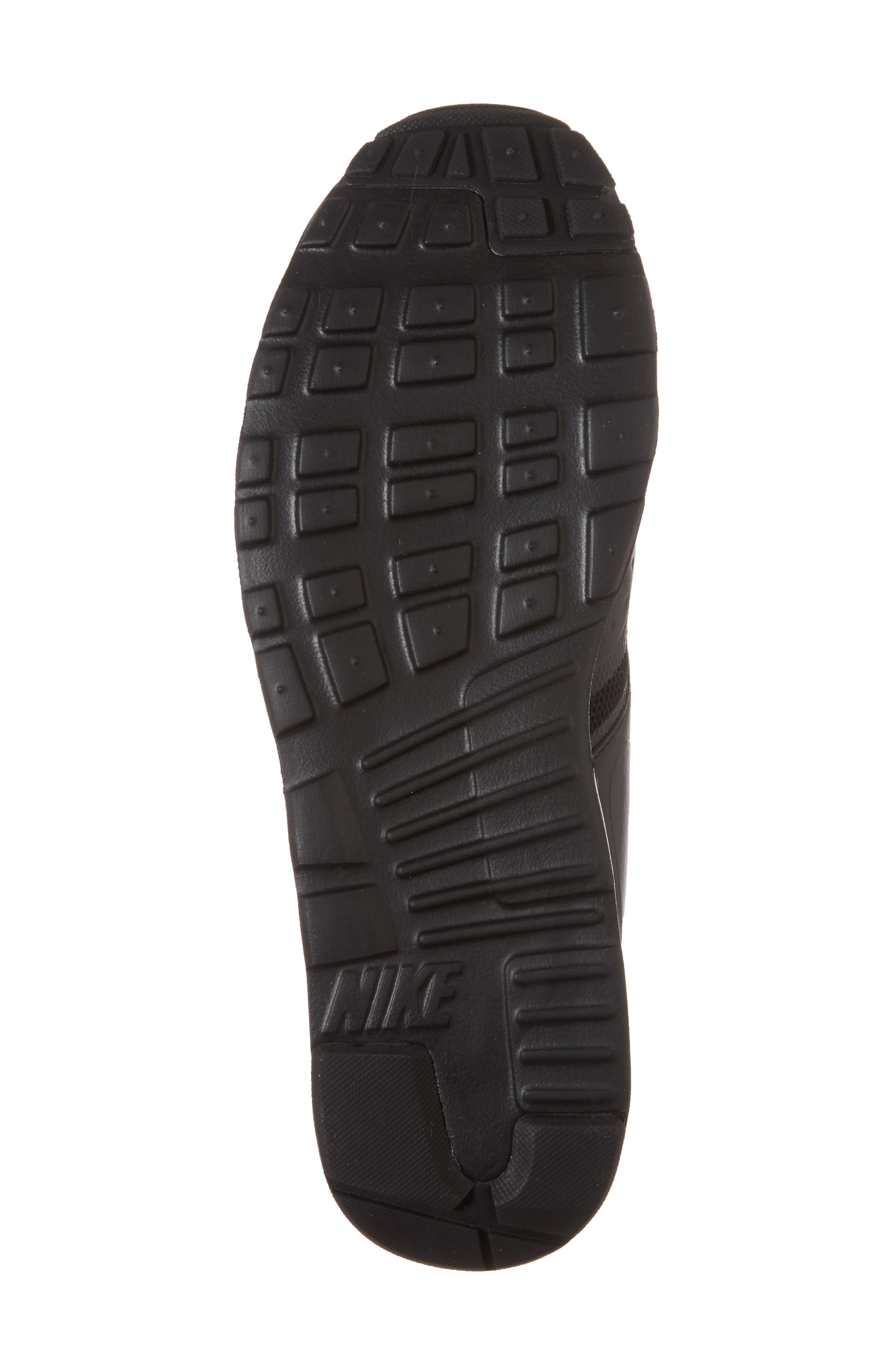 Air Max Vision Sneaker,                             Alternate thumbnail 6, color,                             BLACK/ BLACK