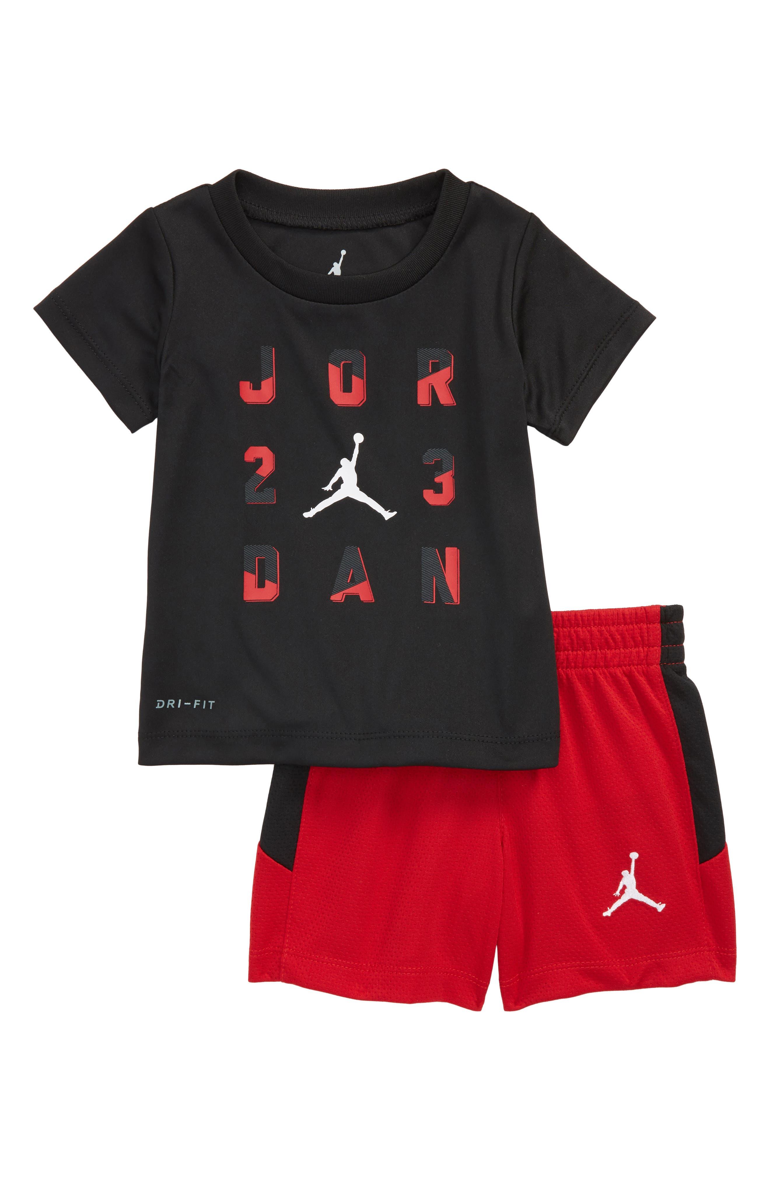23 T-Shirt & Shorts Set,                             Main thumbnail 2, color,