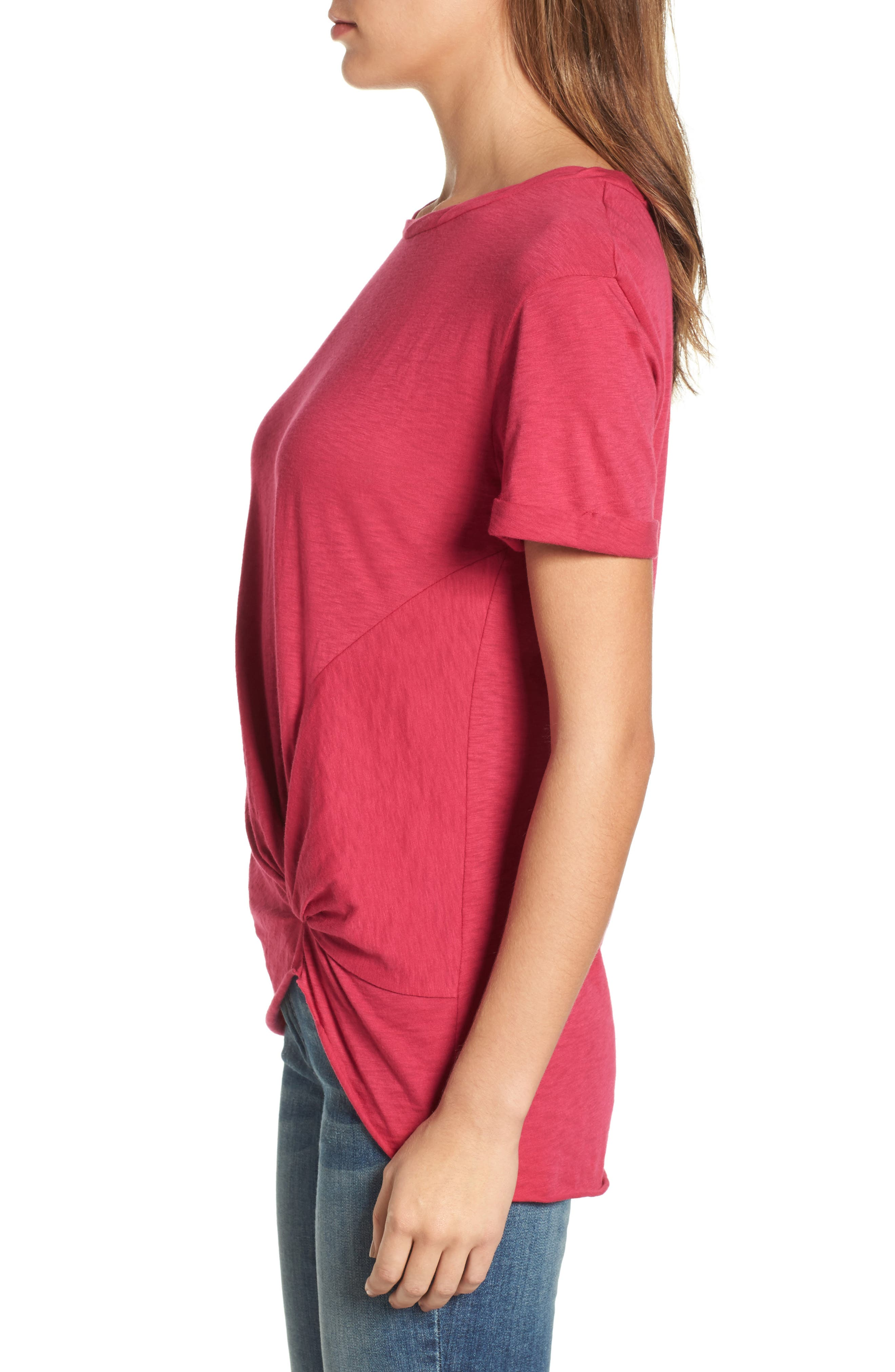 Knotted Tee,                             Alternate thumbnail 32, color,