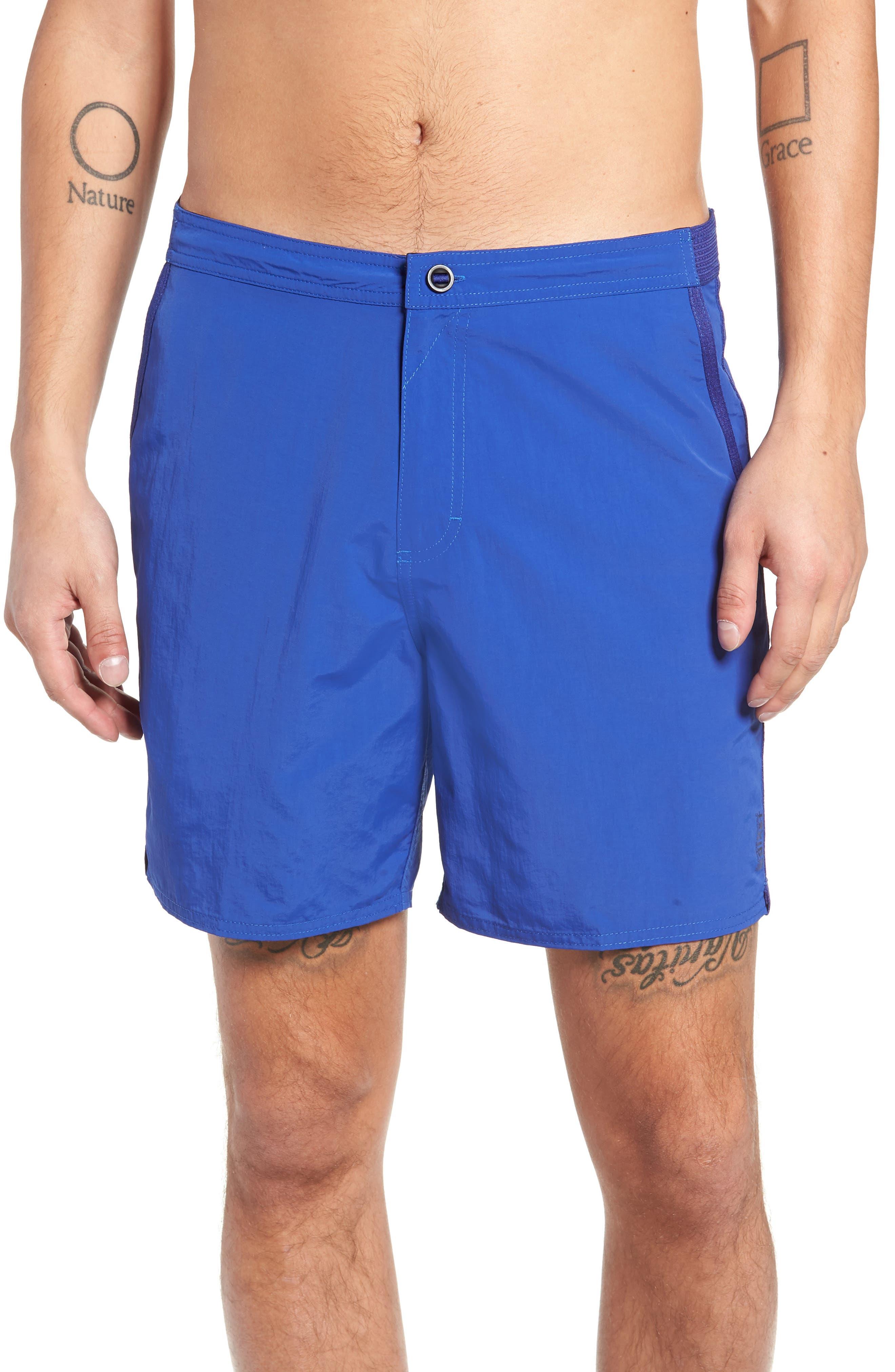 Tavik Catera Swim Shorts, Blue