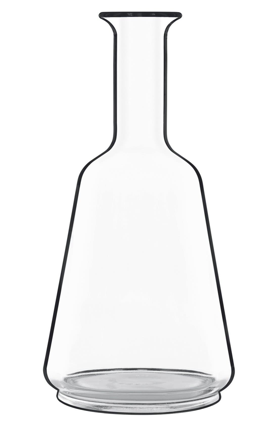 'Prestige' Wine Bottle & Stopper,                             Alternate thumbnail 3, color,