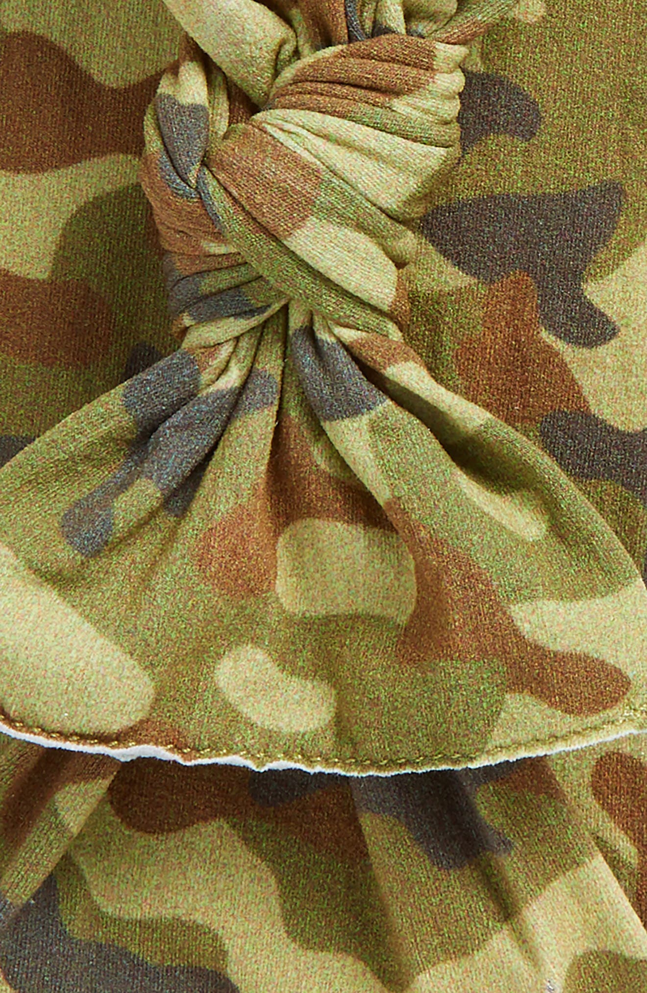 BABY BLING,                             2-Pack Knotted Headbands,                             Alternate thumbnail 2, color,                             NEW CAMO/ BLACK