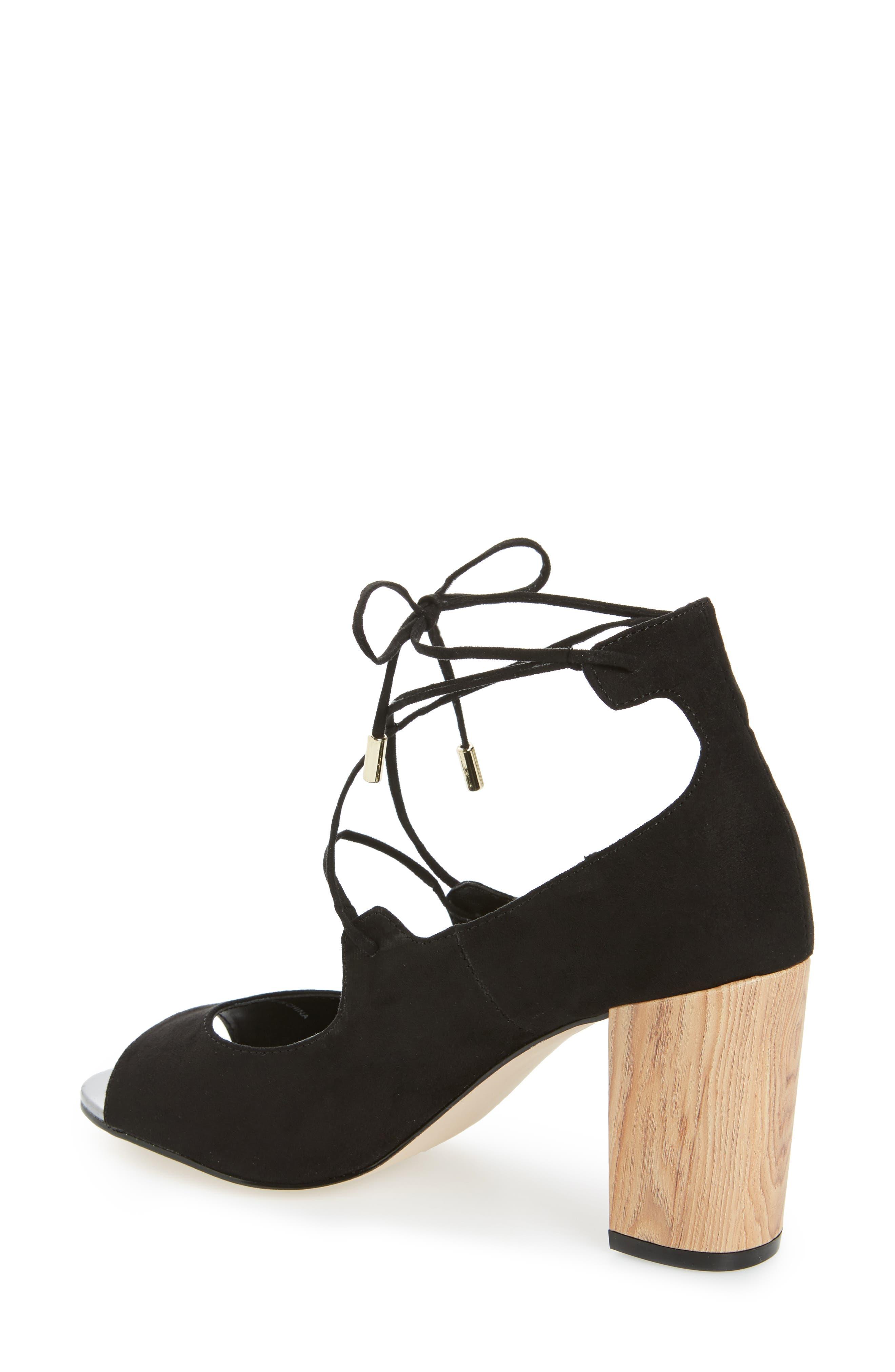 Vikki Block Heel Sandal,                             Alternate thumbnail 2, color,                             003