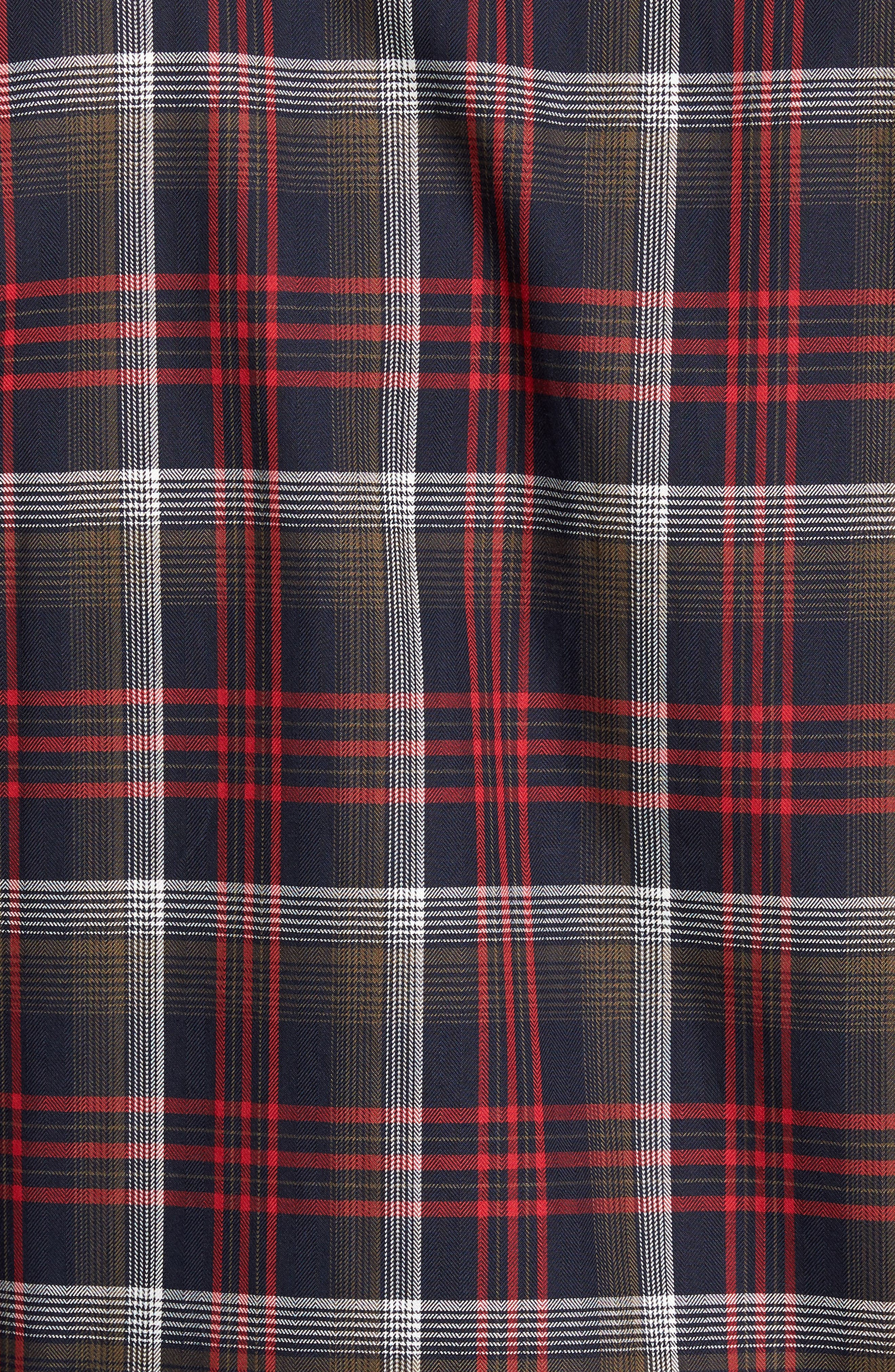 Dry Creek Non-Iron Plaid Sport Shirt,                             Alternate thumbnail 5, color,                             622