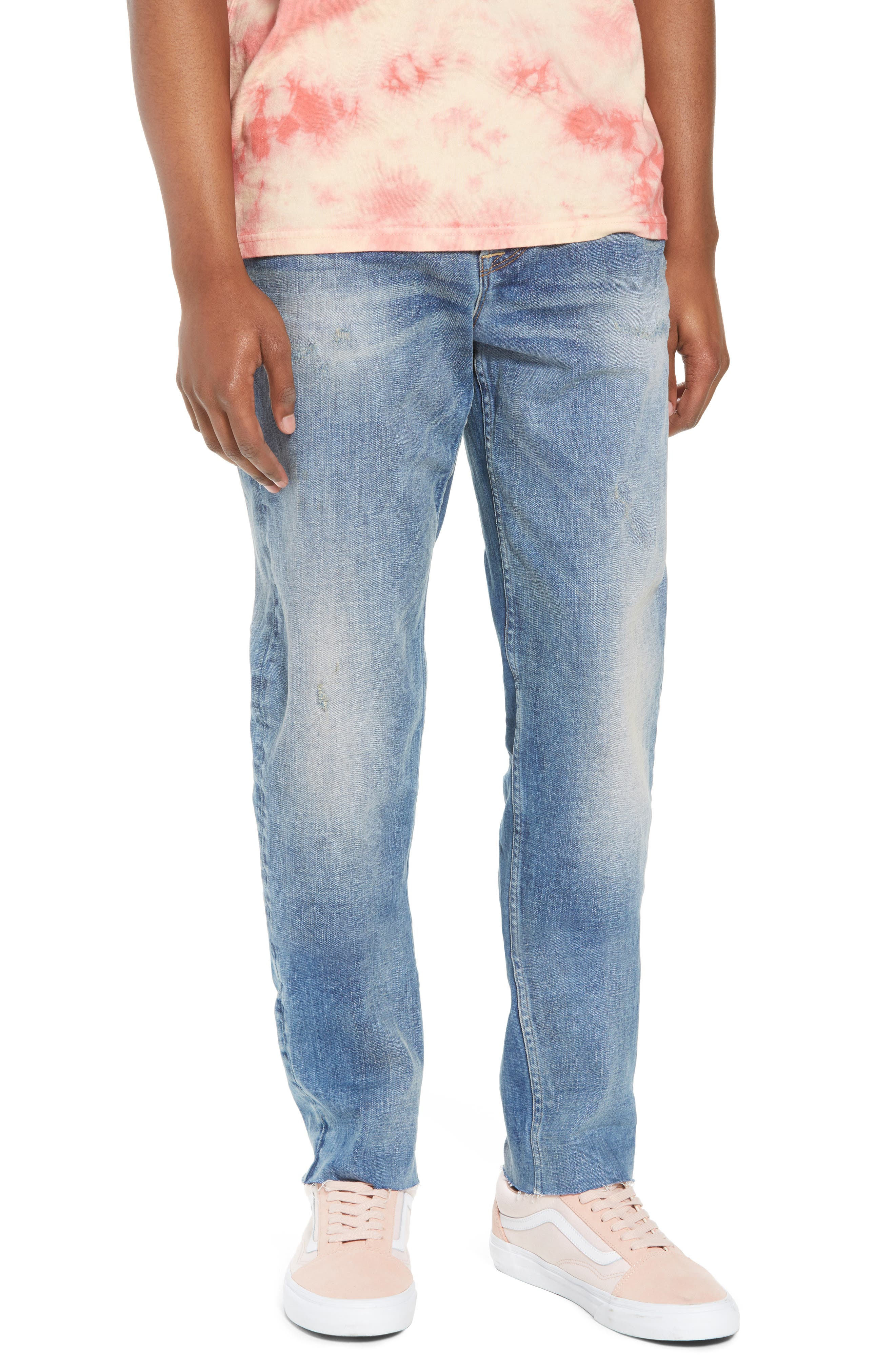 Sartor Slouchy Skinny Fit Jeans,                             Main thumbnail 1, color,                             429