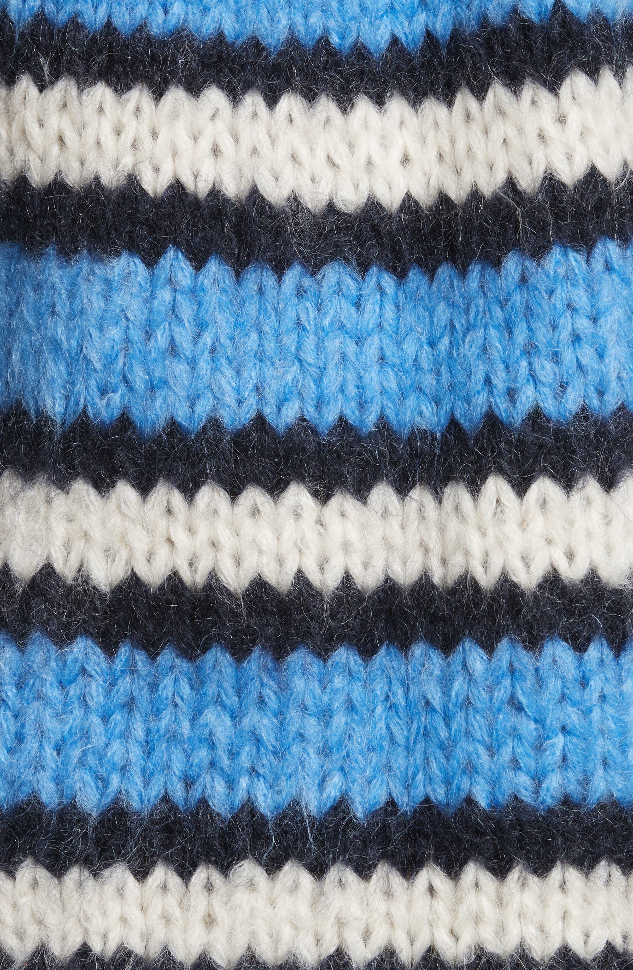 Juilliard Stripe Mohair & Wool Sweater,                             Alternate thumbnail 5, color,
