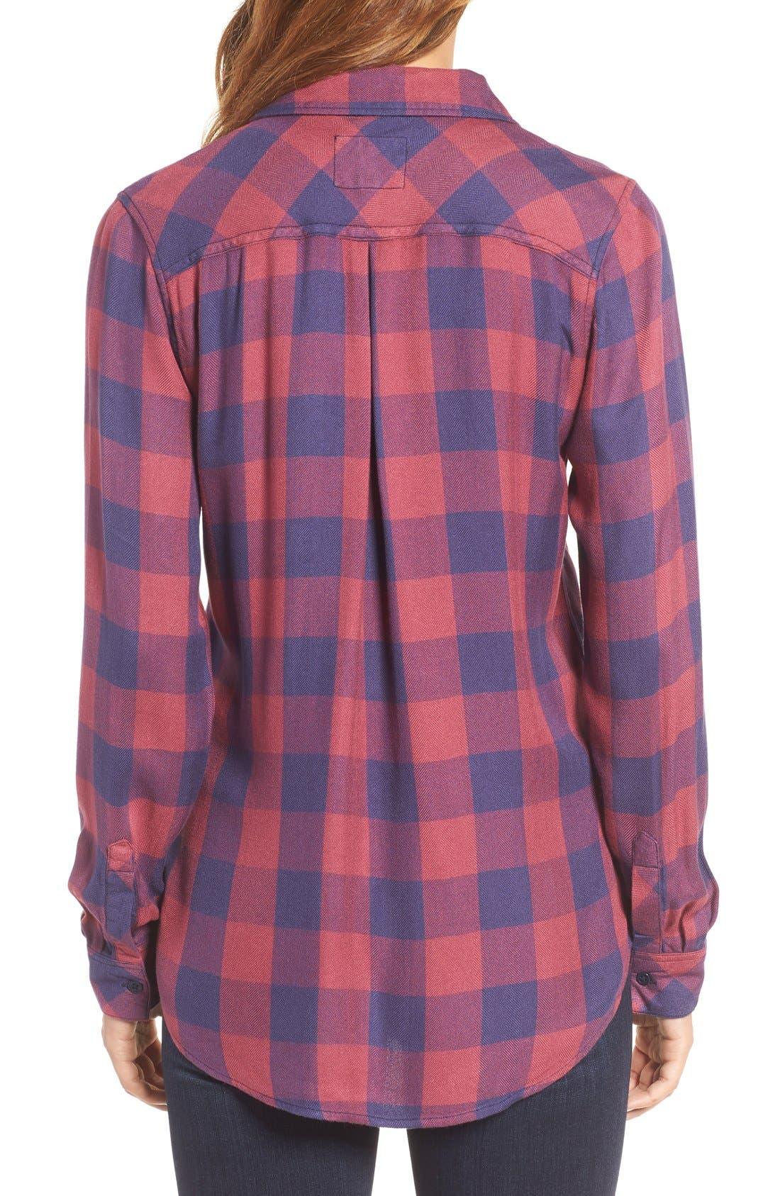 Hunter Plaid Shirt,                             Alternate thumbnail 273, color,
