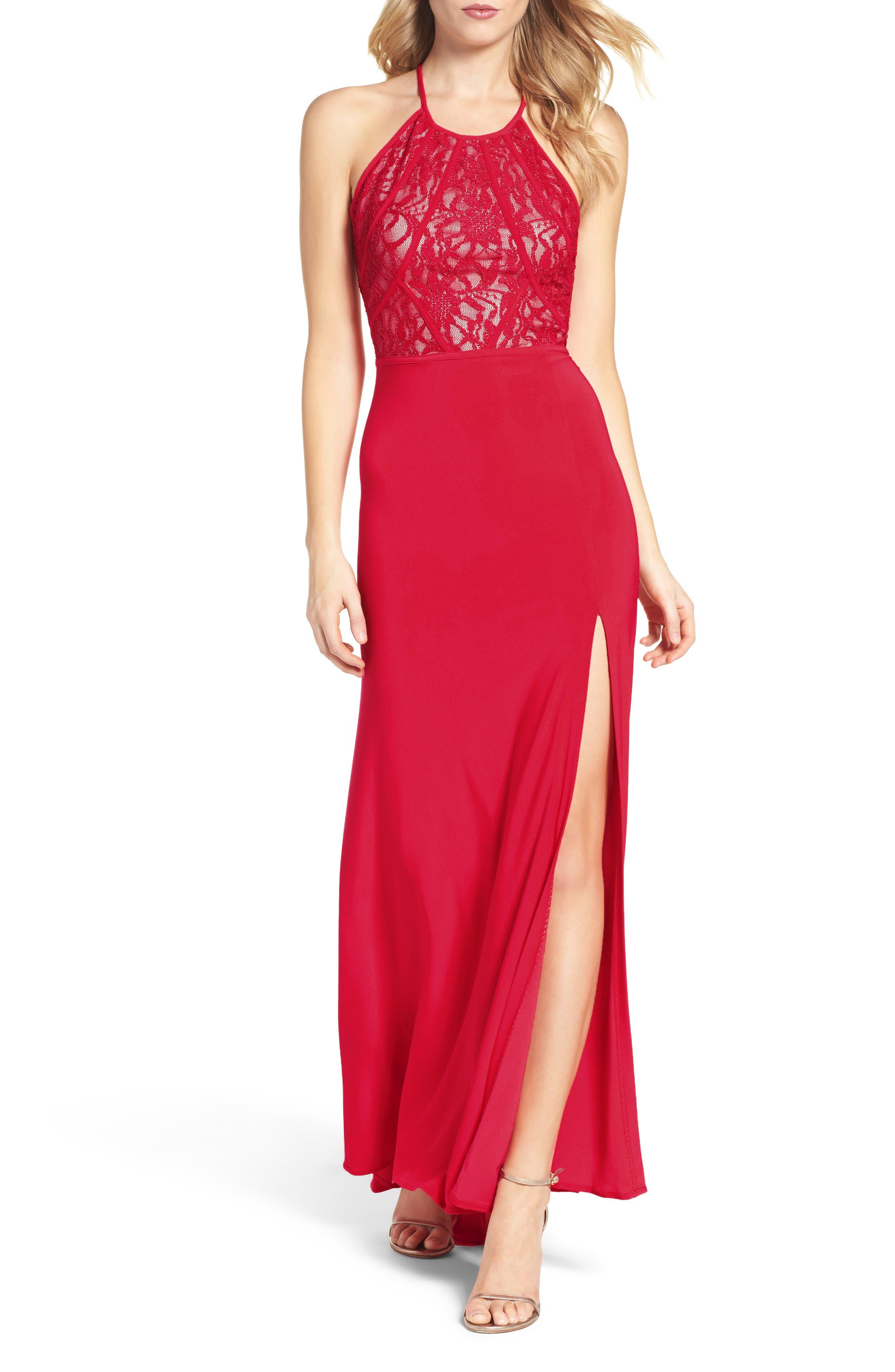 Lace Gown,                             Main thumbnail 1, color,