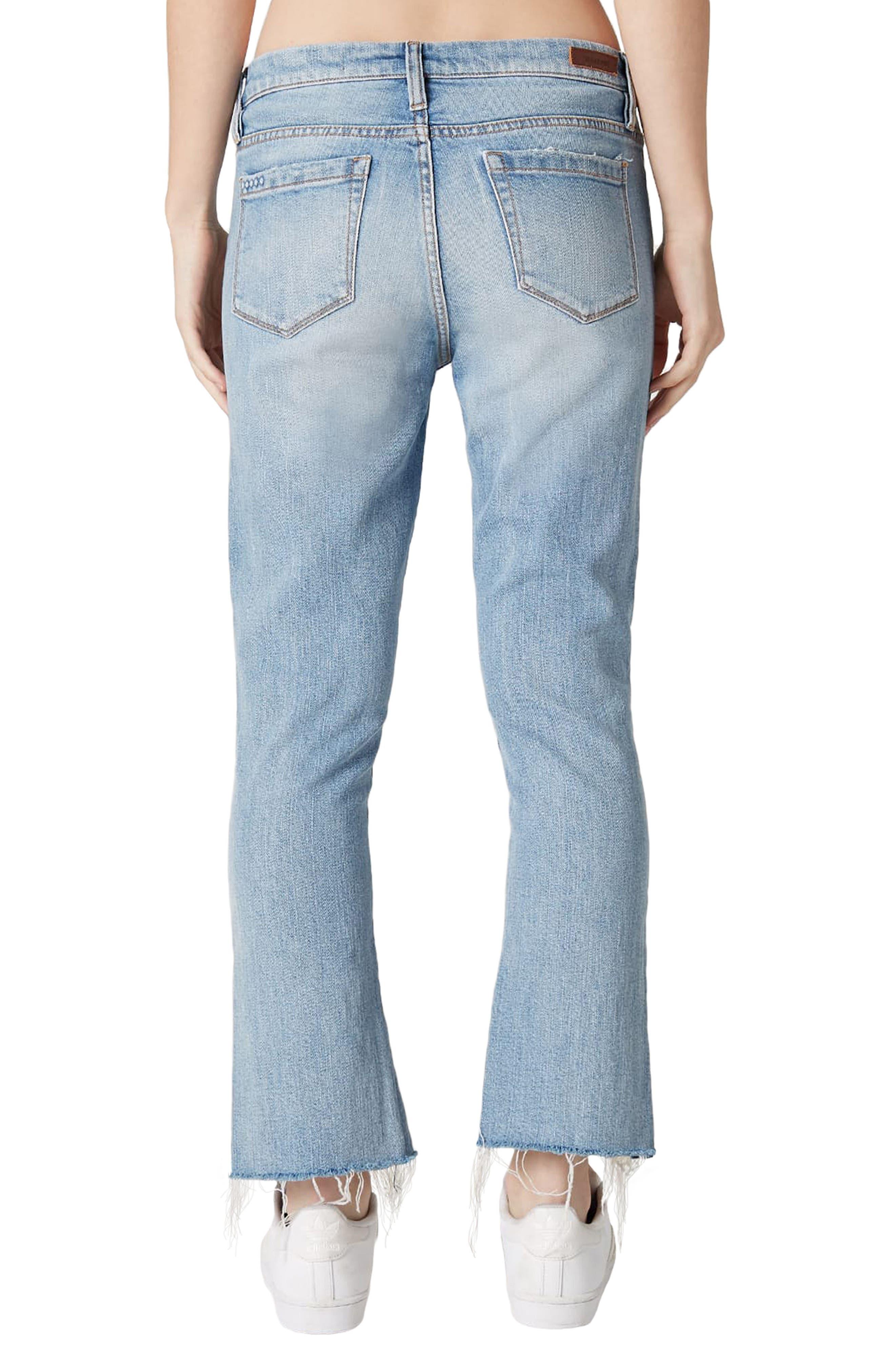 Constant Convo Distressed Hem Jeans,                             Alternate thumbnail 2, color,                             400