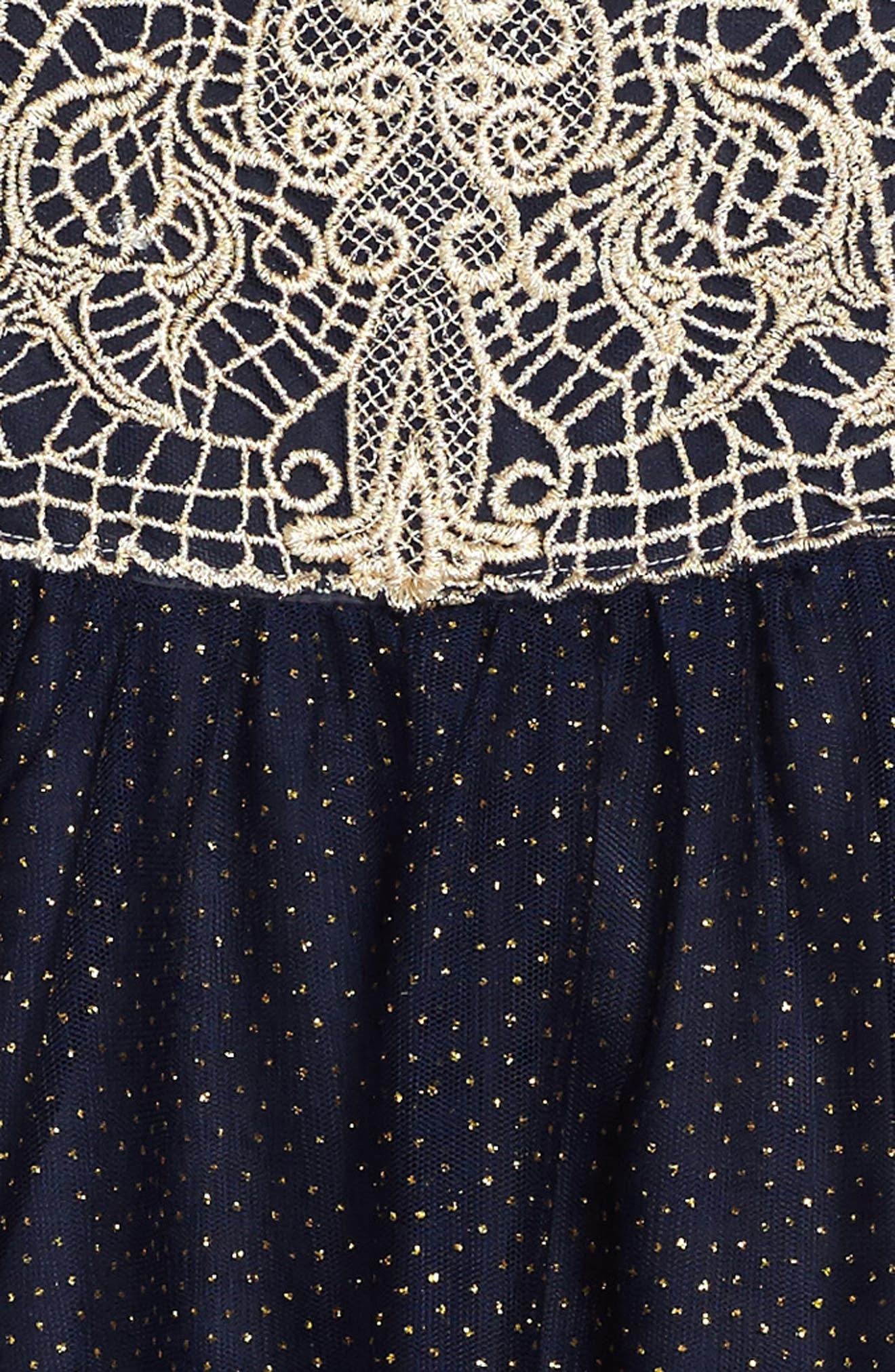 Belinda Dress,                             Alternate thumbnail 3, color,                             410