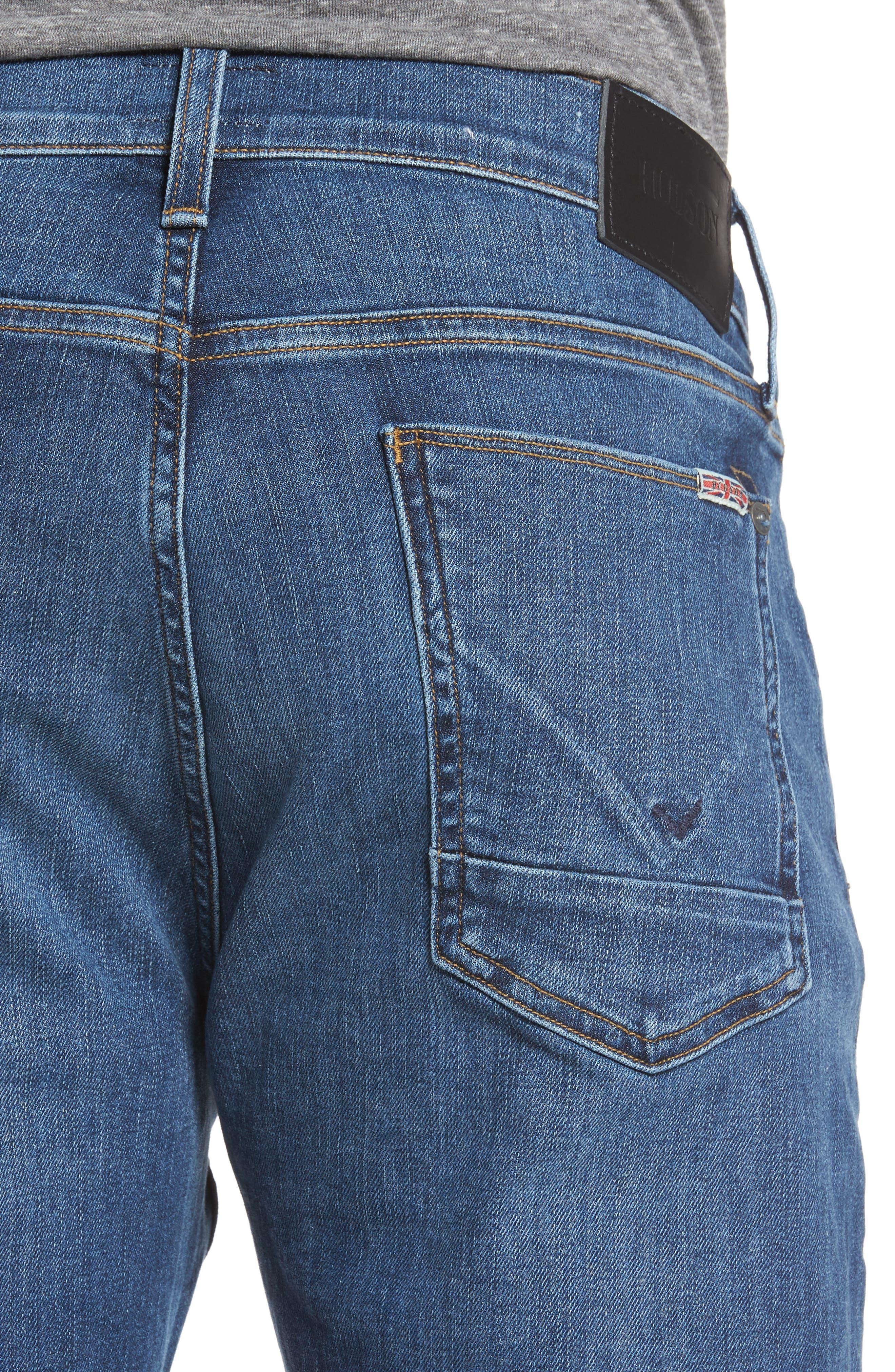 Byron Slim Straight Leg Jeans,                             Alternate thumbnail 4, color,                             421