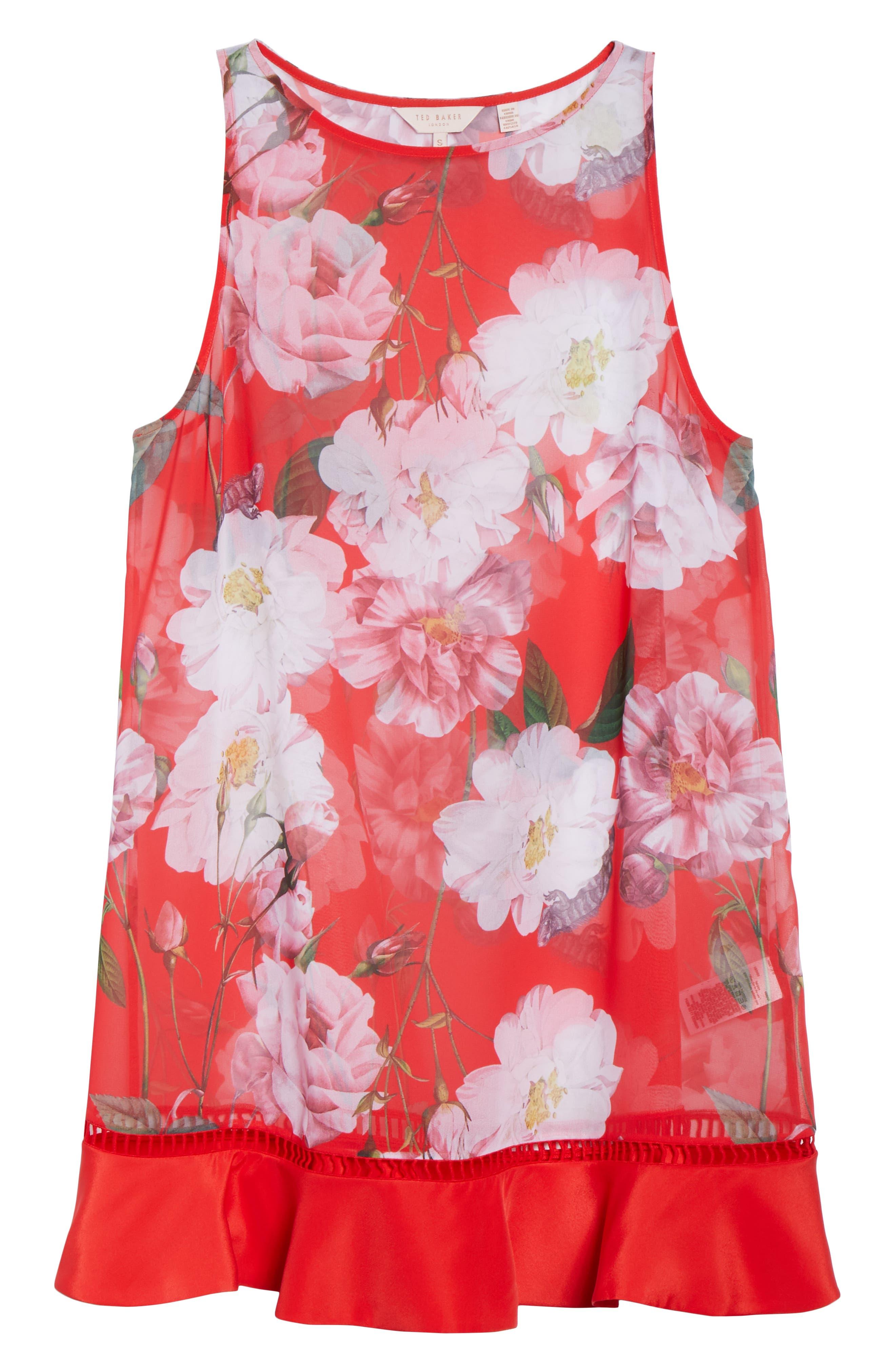 Ceskier Iguazu Cover-Up Dress,                             Alternate thumbnail 6, color,                             611